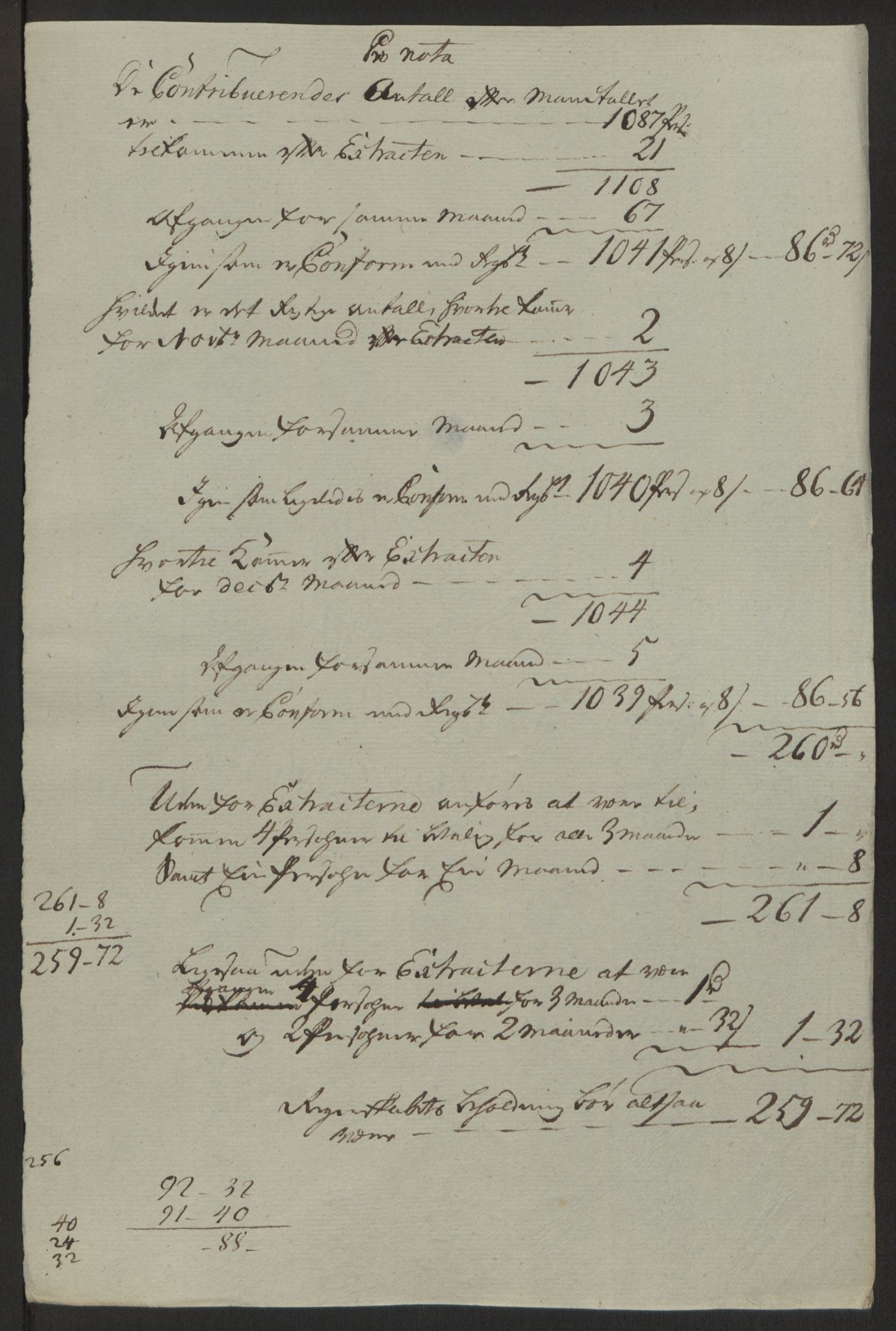 RA, Rentekammeret inntil 1814, Reviderte regnskaper, Byregnskaper, R/Rb/L0029: [B3] Kontribusjonsregnskap, 1762-1772, s. 56
