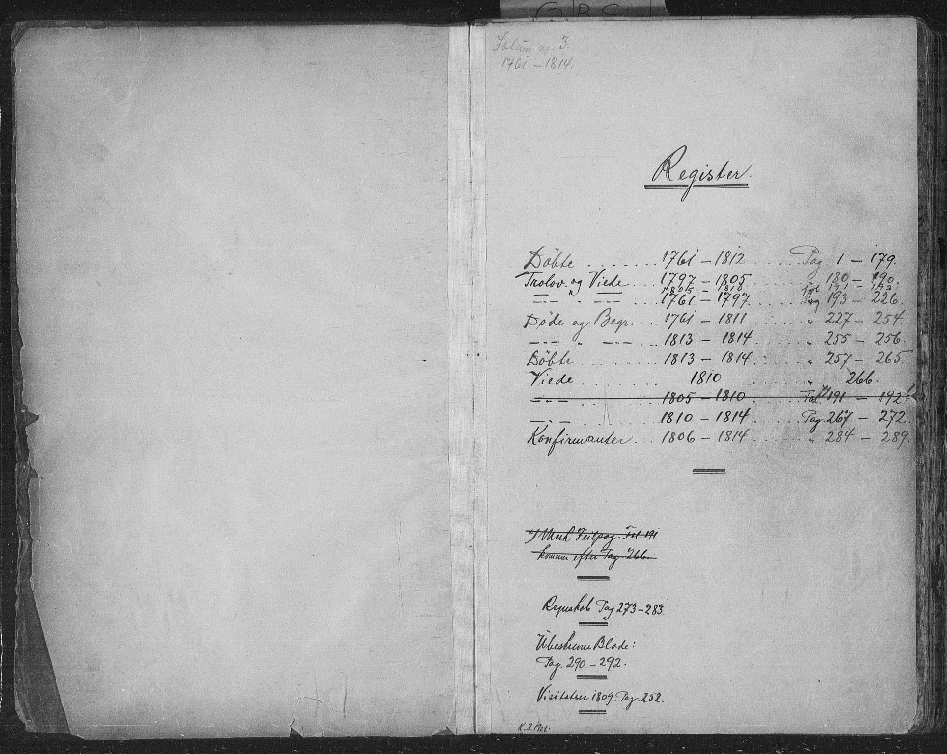 SAKO, Solum kirkebøker, F/Fa/L0003: Ministerialbok nr. I 3, 1761-1814