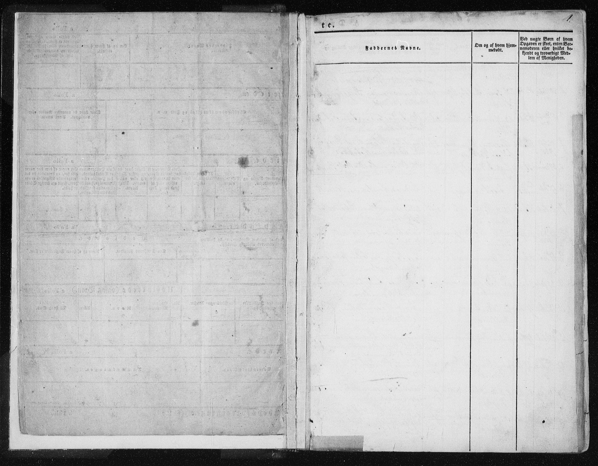 SAT, Ministerialprotokoller, klokkerbøker og fødselsregistre - Nord-Trøndelag, 735/L0339: Ministerialbok nr. 735A06 /1, 1836-1848, s. 1