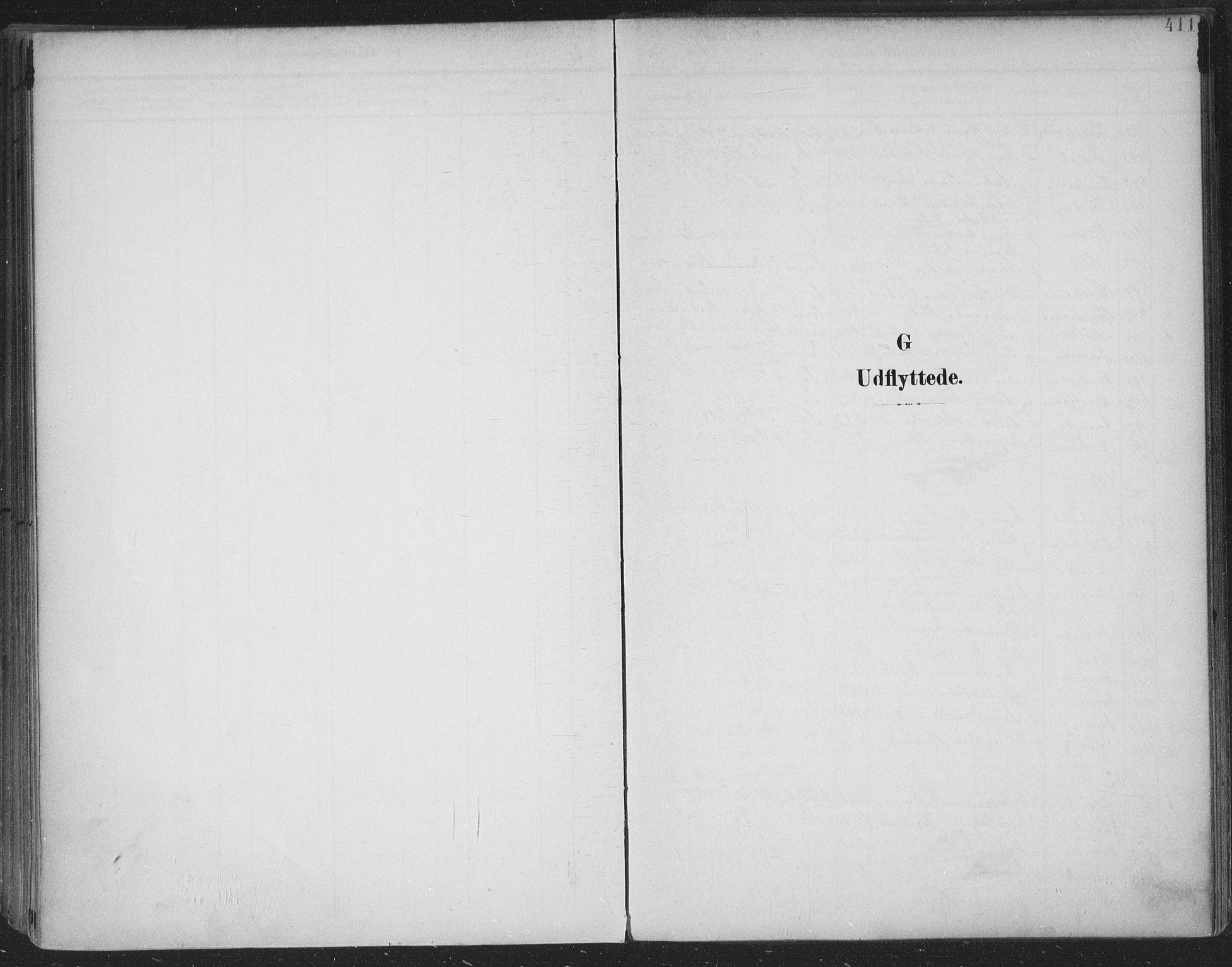 SAKO, Skien kirkebøker, F/Fa/L0011: Ministerialbok nr. 11, 1900-1907, s. 411