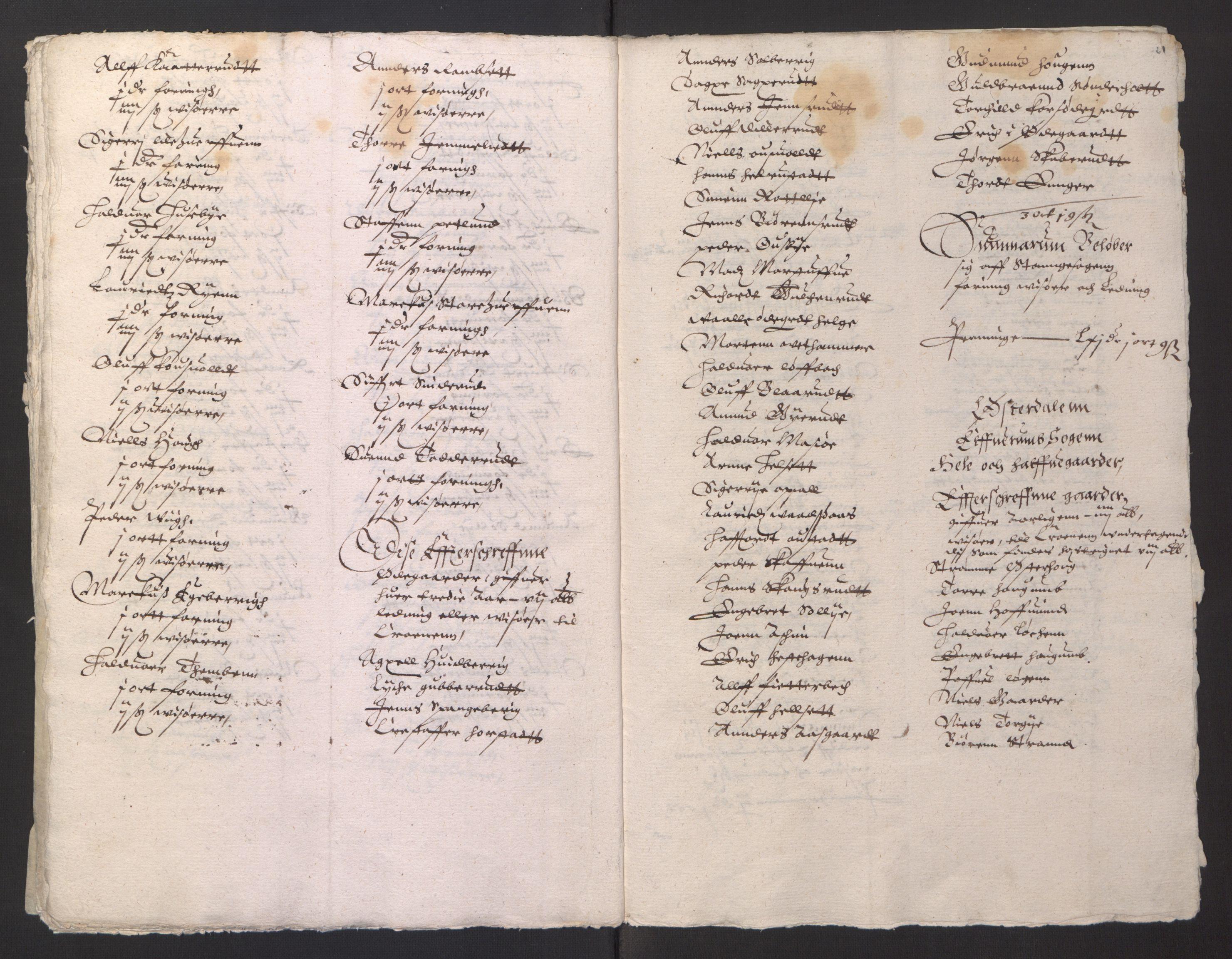 RA, Stattholderembetet 1572-1771, Ek/L0001: Jordebøker før 1624 og til utligning av garnisonsskatt 1624-1626:, 1624-1625, s. 61