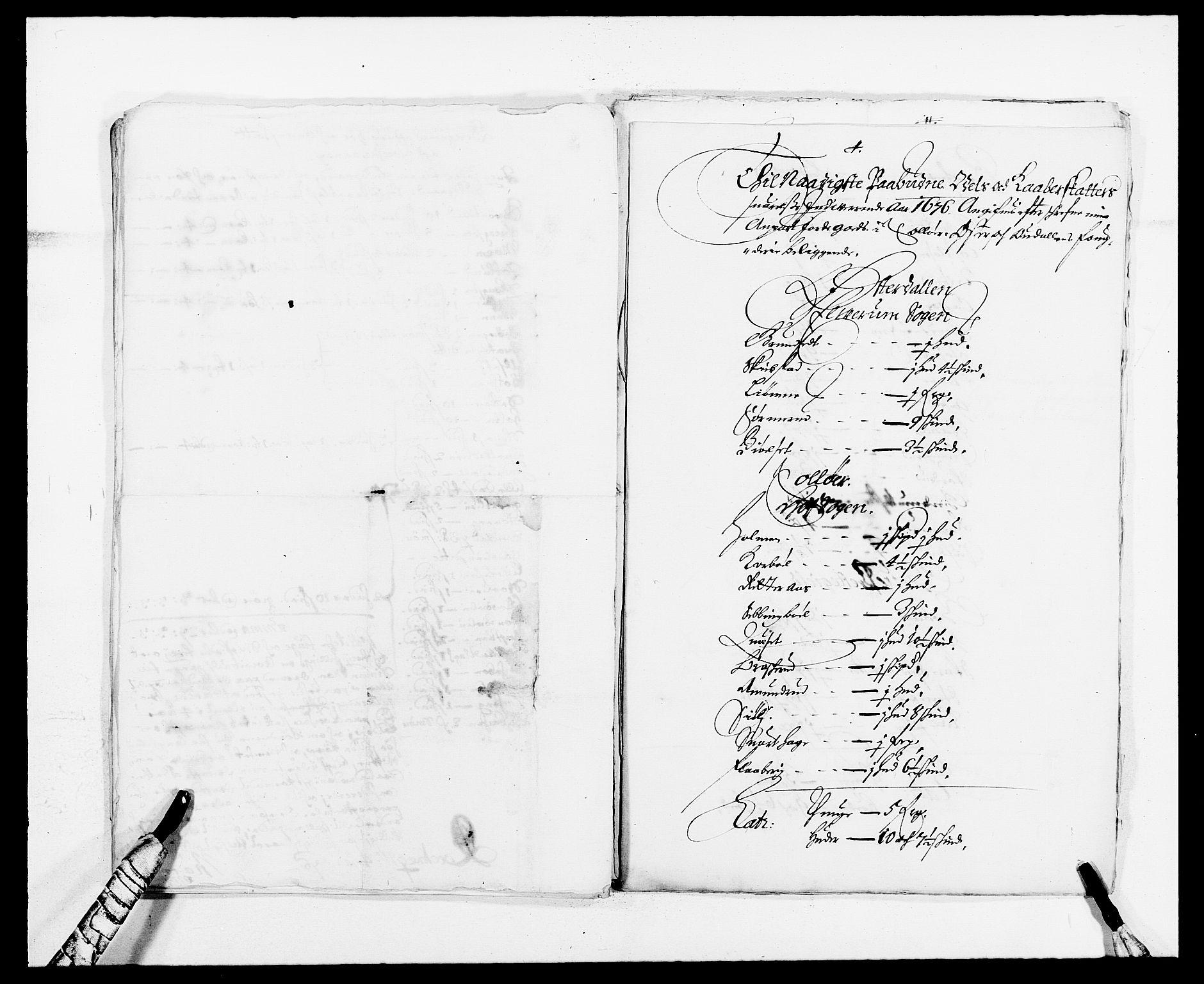 RA, Rentekammeret inntil 1814, Reviderte regnskaper, Fogderegnskap, R13/L0812: Fogderegnskap Solør, Odal og Østerdal, 1676, s. 201