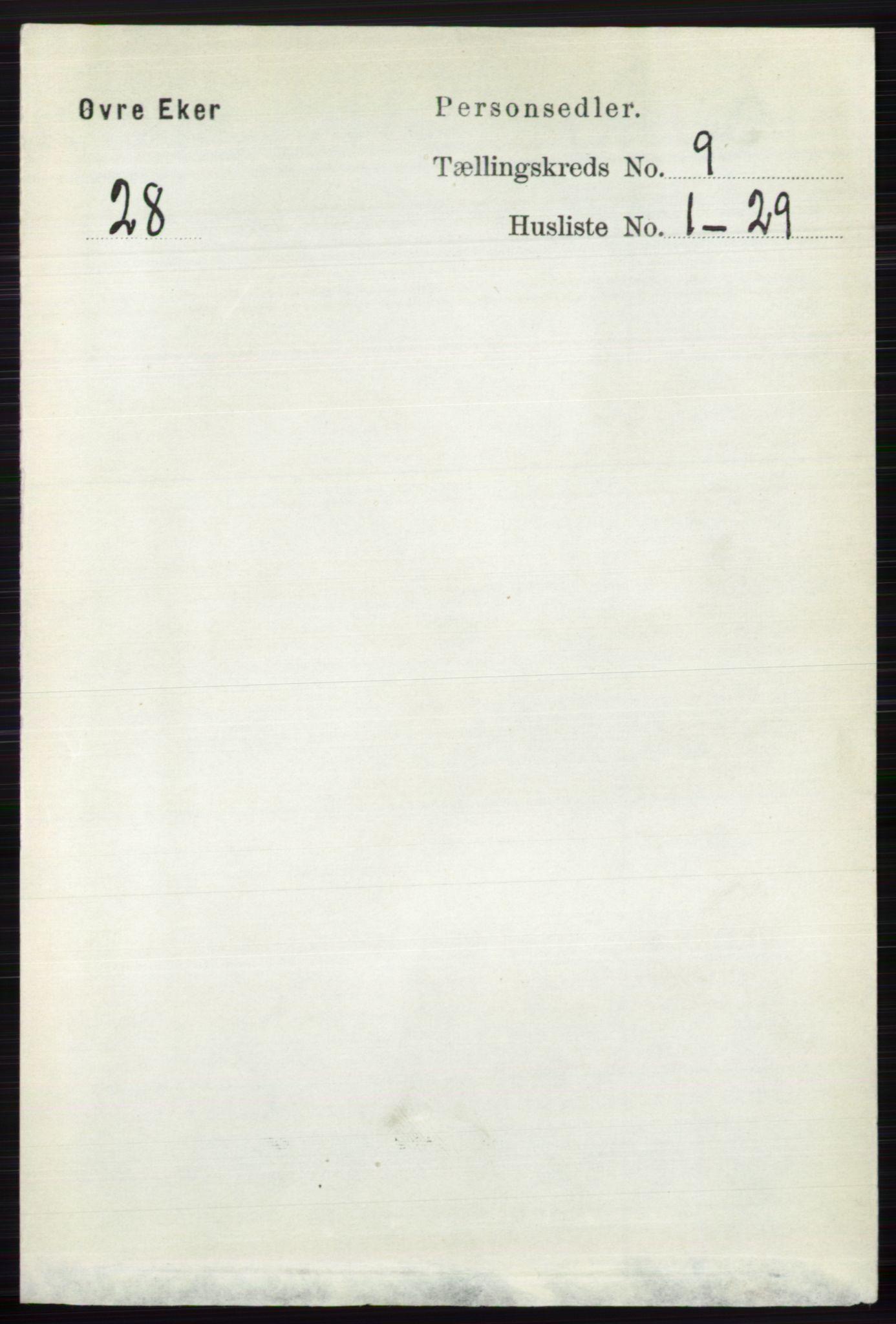 RA, Folketelling 1891 for 0624 Øvre Eiker herred, 1891, s. 3641