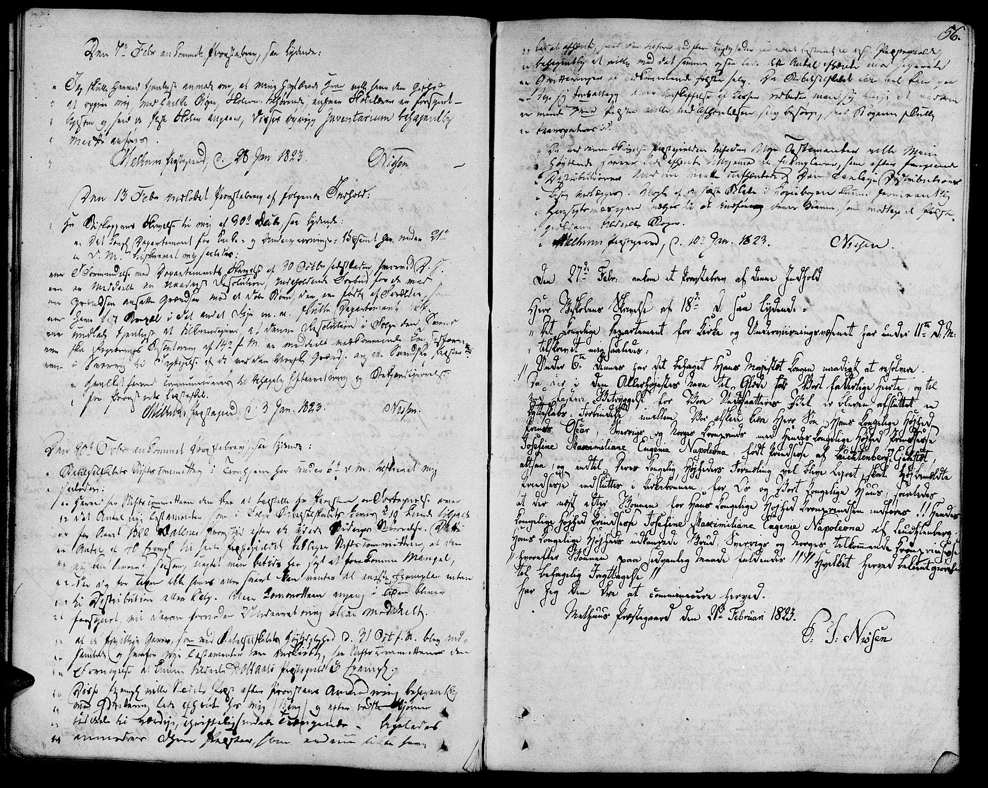 SAT, Ministerialprotokoller, klokkerbøker og fødselsregistre - Sør-Trøndelag, 685/L0953: Ministerialbok nr. 685A02, 1805-1816, s. 56