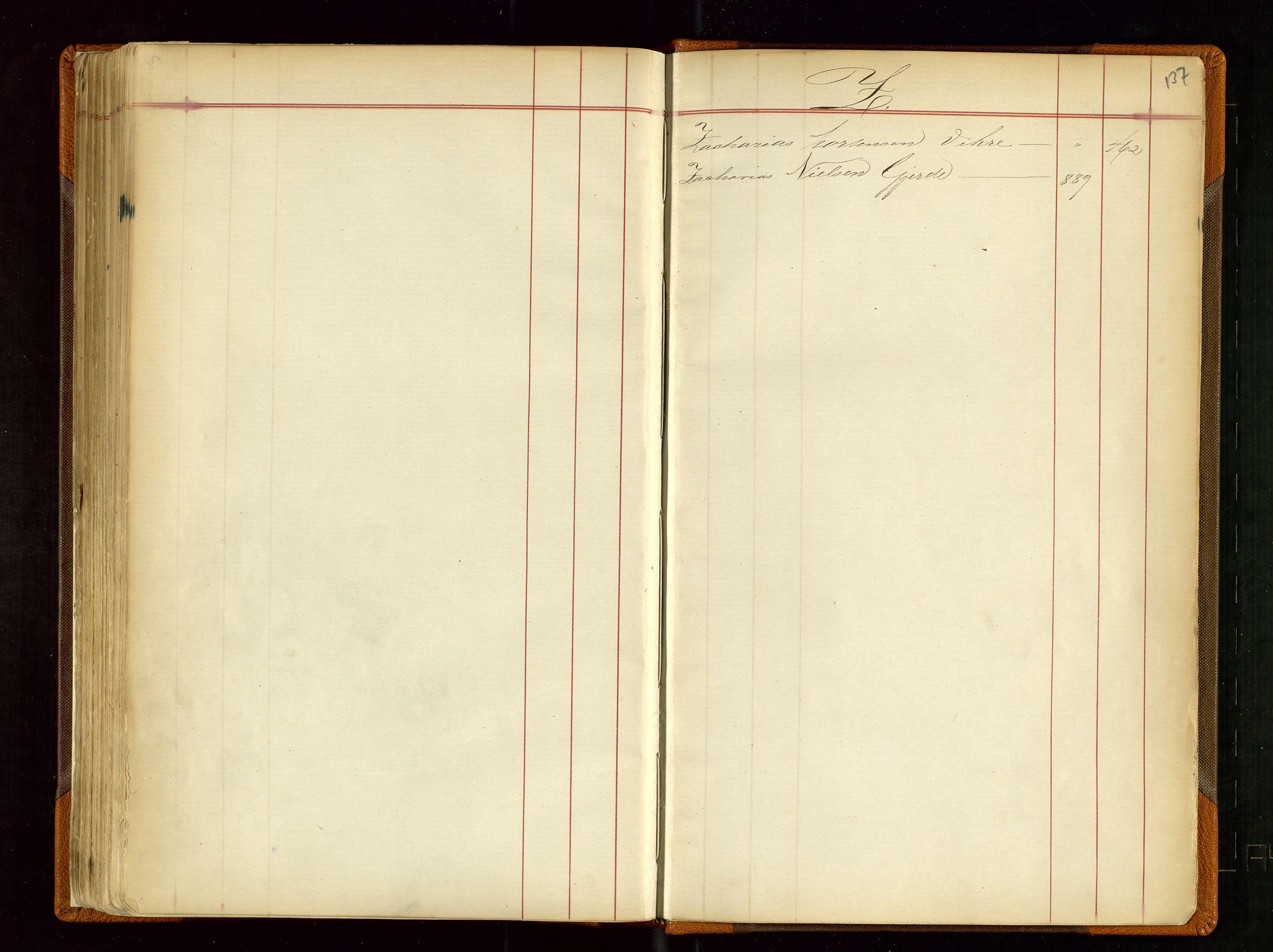 SAST, Haugesund sjømannskontor, F/Fb/Fba/L0001: Navneregister med henvisning til rullenr (Fornavn) Skudenes krets, 1860-1948, s. 137