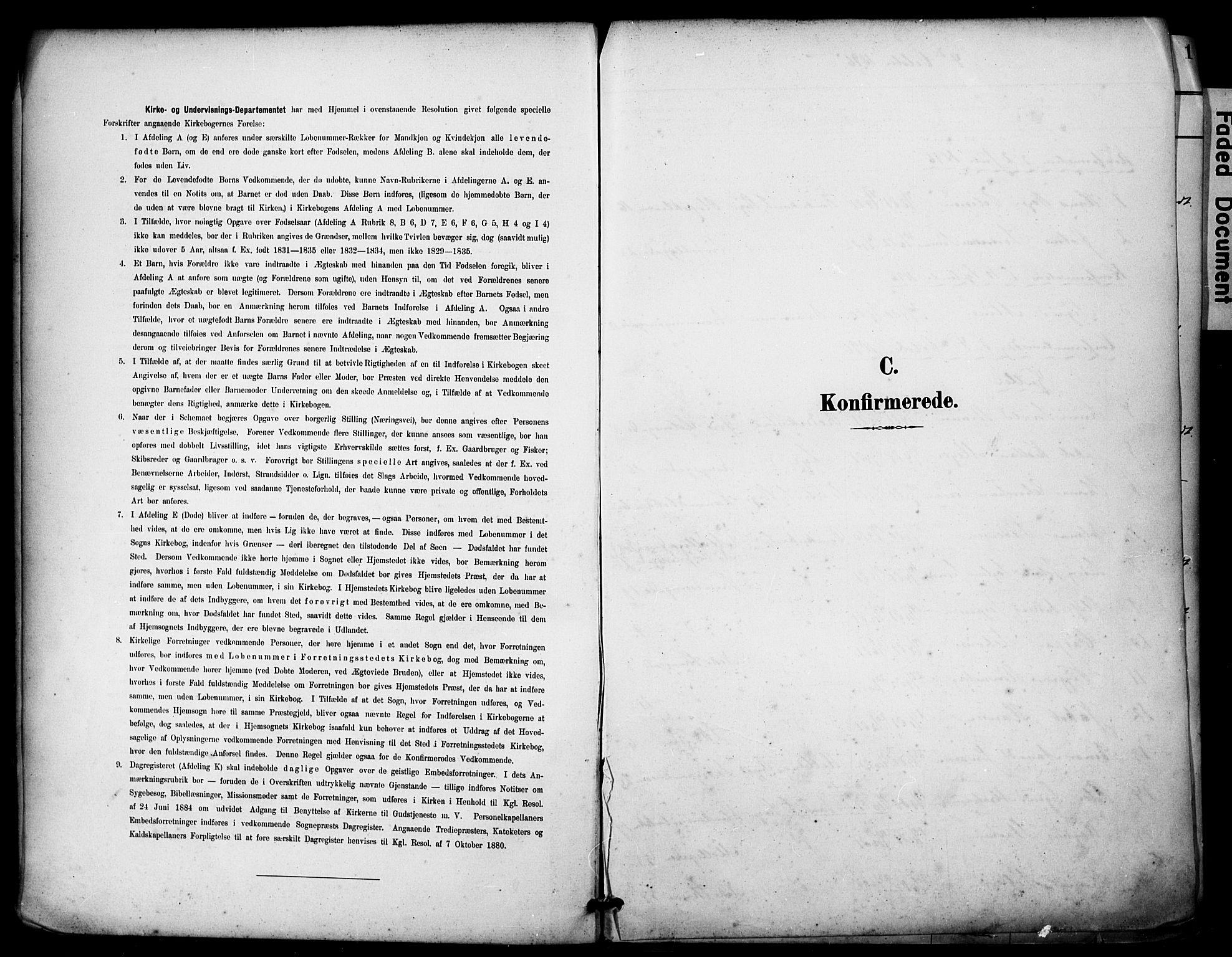 SAST, Domkirken sokneprestkontor, 30/30BA/L0031: Ministerialbok nr. A 30, 1896-1916