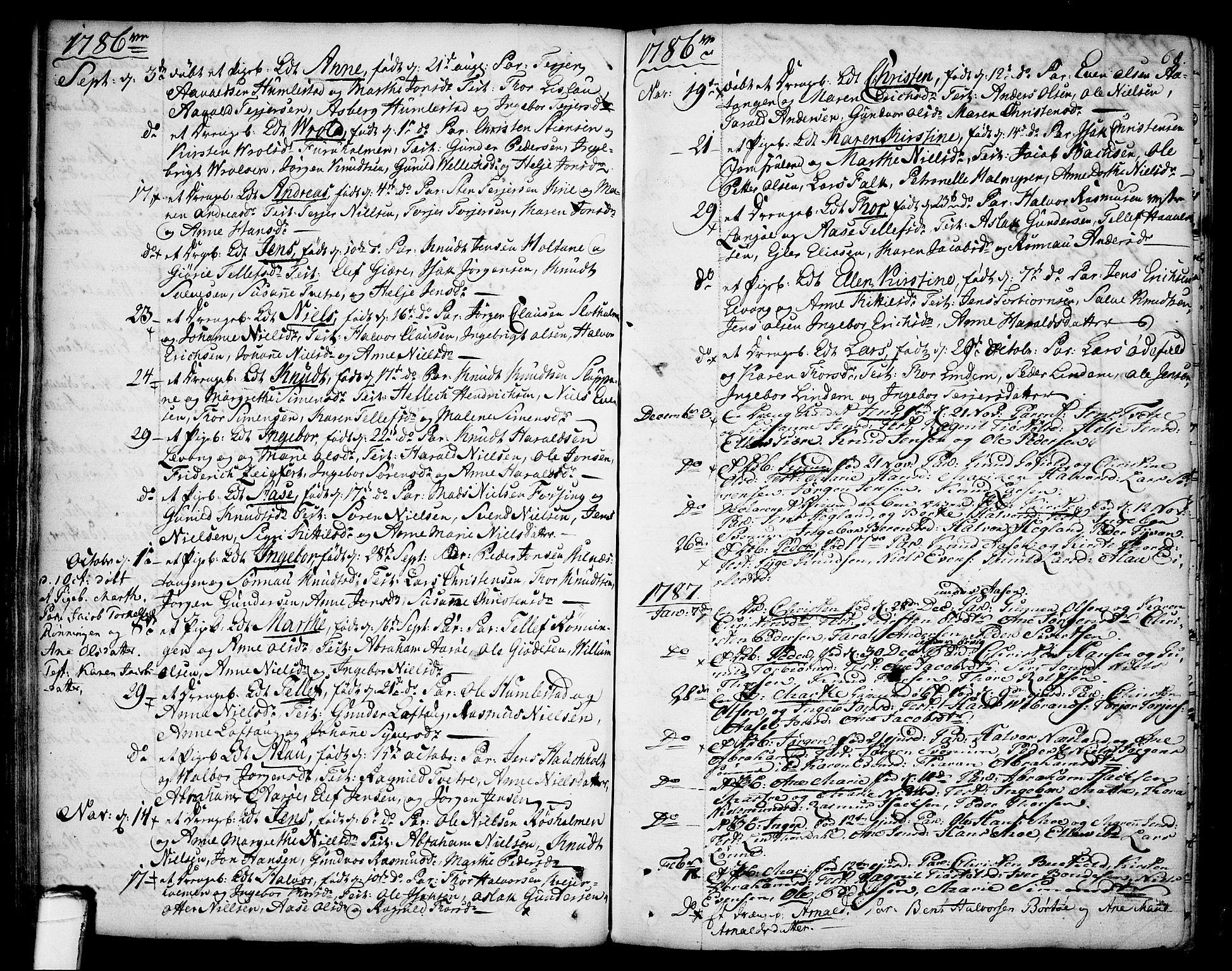 SAKO, Sannidal kirkebøker, F/Fa/L0002: Ministerialbok nr. 2, 1767-1802, s. 68