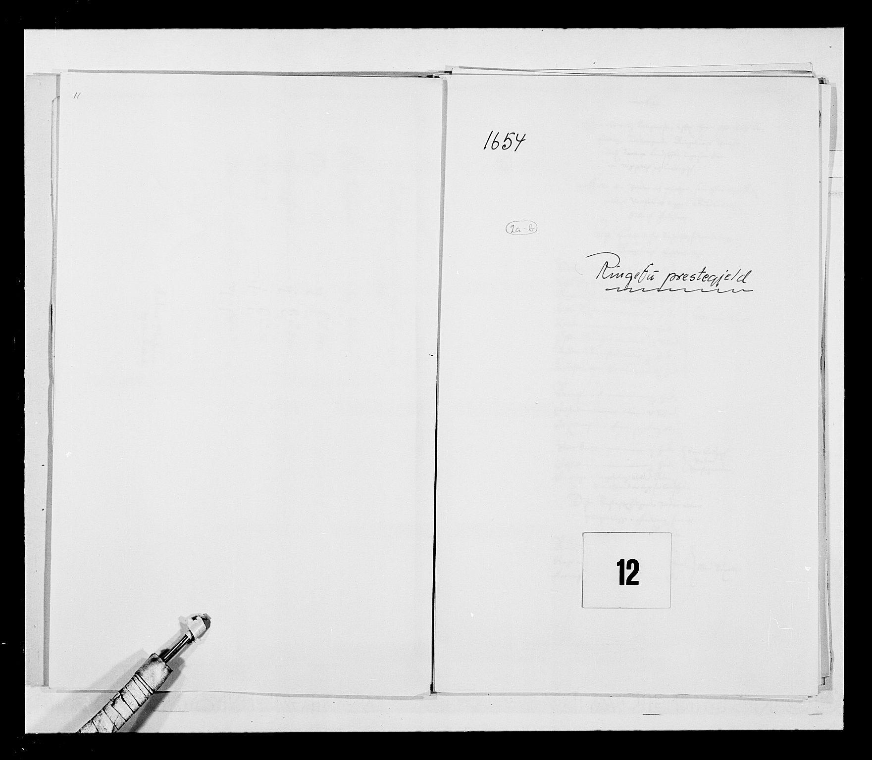 RA, Stattholderembetet 1572-1771, Ek/L0030: Jordebøker 1633-1658:, 1654, s. 51