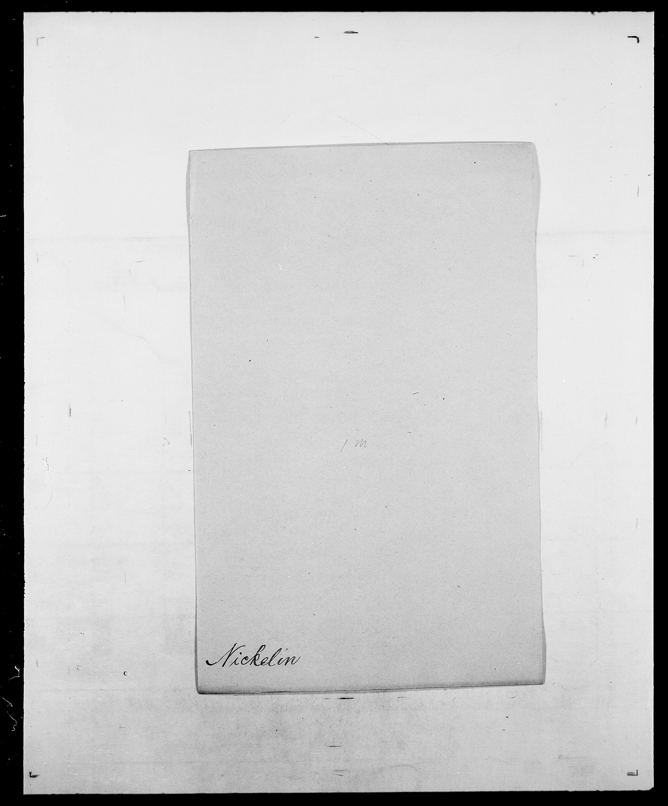 SAO, Delgobe, Charles Antoine - samling, D/Da/L0028: Naaden - Nøvik, s. 160