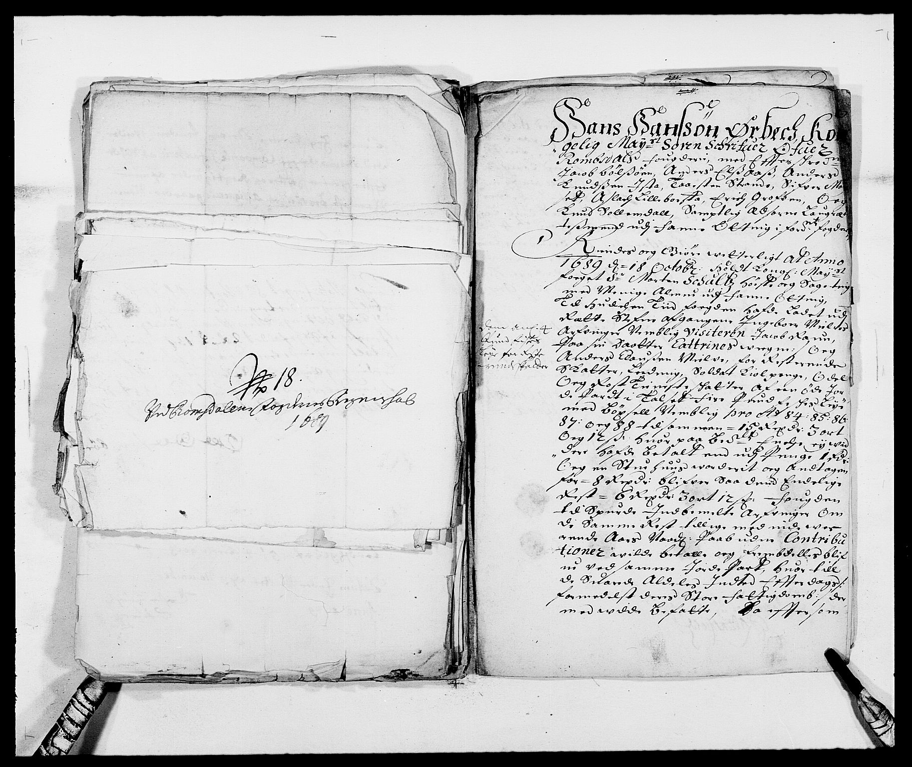 RA, Rentekammeret inntil 1814, Reviderte regnskaper, Fogderegnskap, R55/L3648: Fogderegnskap Romsdal, 1687-1689, s. 421
