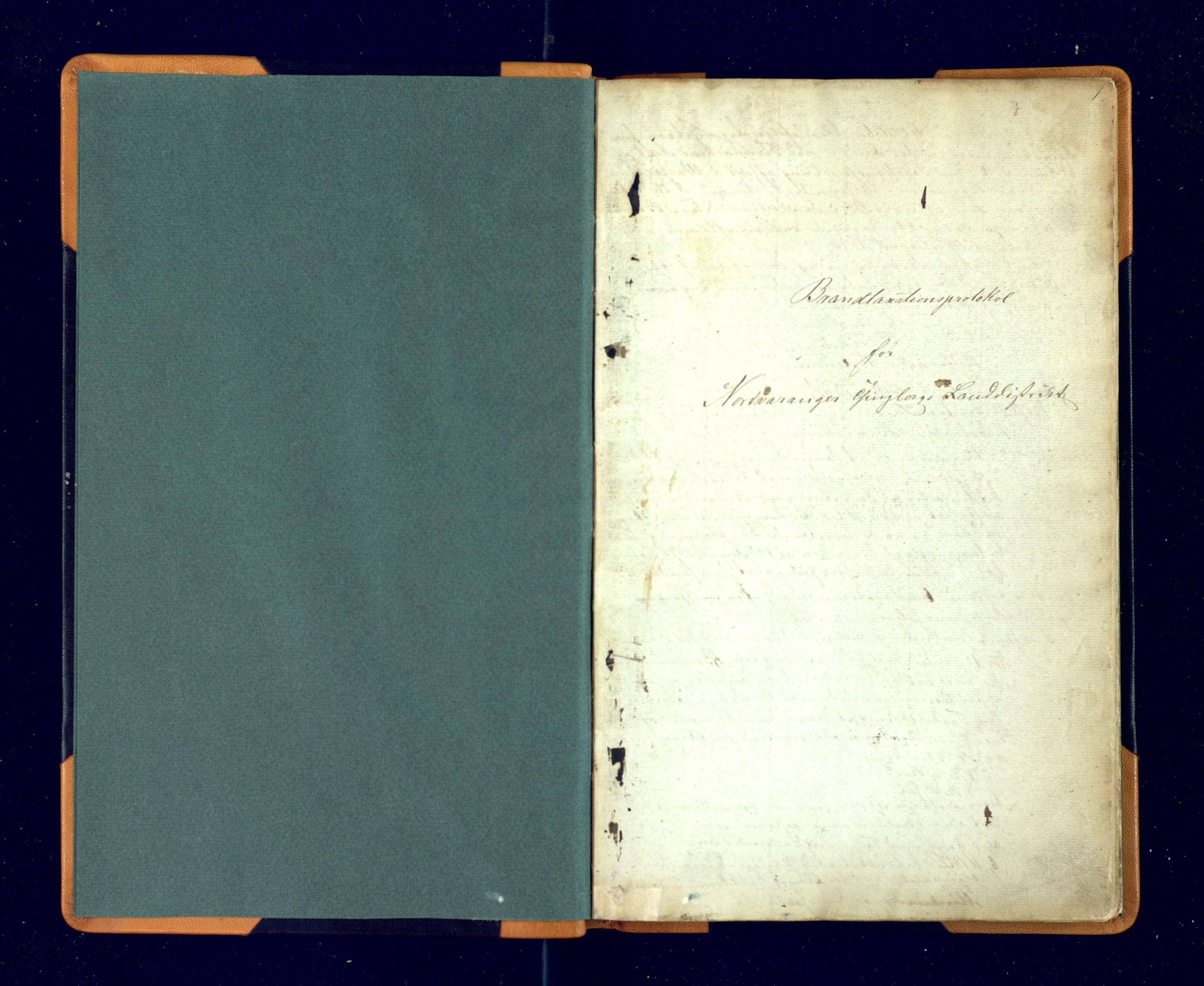 SATØ, Nord-Varanger lensmannskontor, Fp/Fpb/L0195: Branntakstprotokoller, 1846-1879, s. 1a