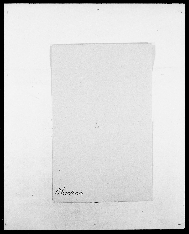 SAO, Delgobe, Charles Antoine - samling, D/Da/L0029: Obel - Oxholm, s. 74