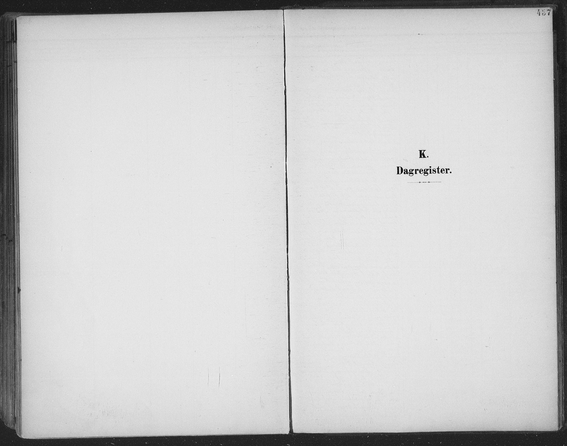 SAKO, Skien kirkebøker, F/Fa/L0011: Ministerialbok nr. 11, 1900-1907, s. 437