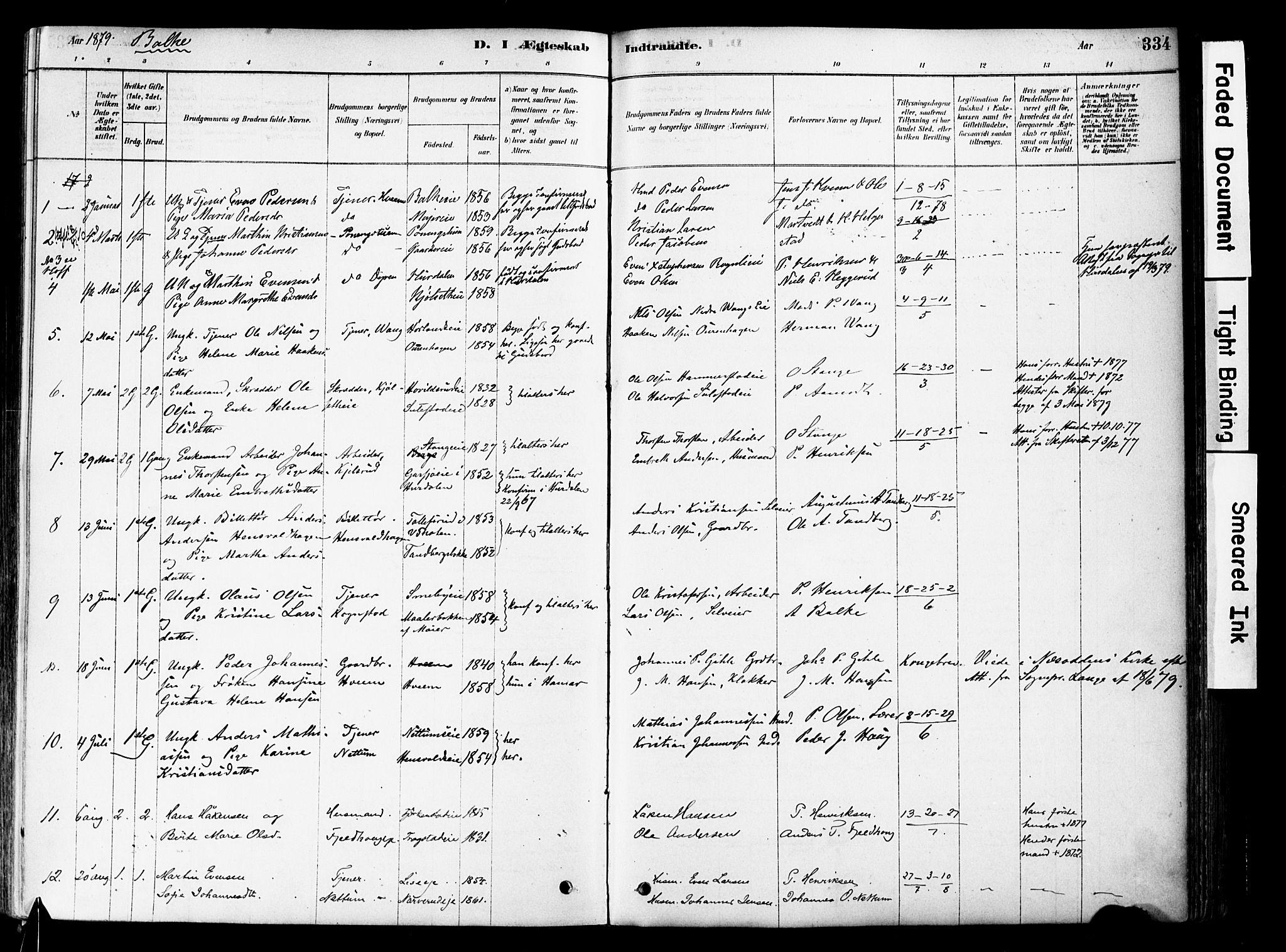 SAH, Østre Toten prestekontor, Ministerialbok nr. 6 /2, 1878-1880, s. 334