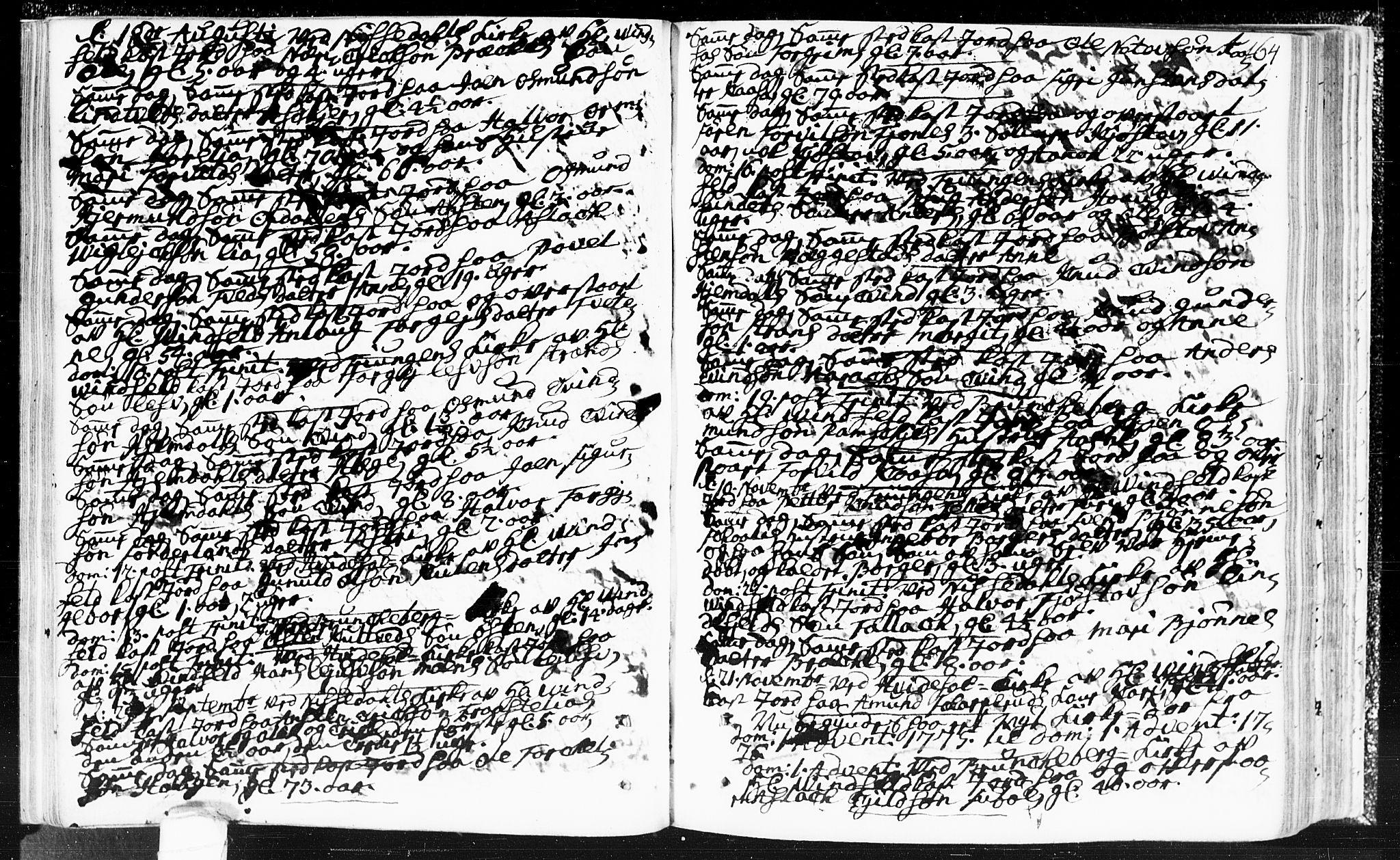 SAKO, Kviteseid kirkebøker, F/Fa/L0002: Ministerialbok nr. I 2, 1773-1786, s. 164