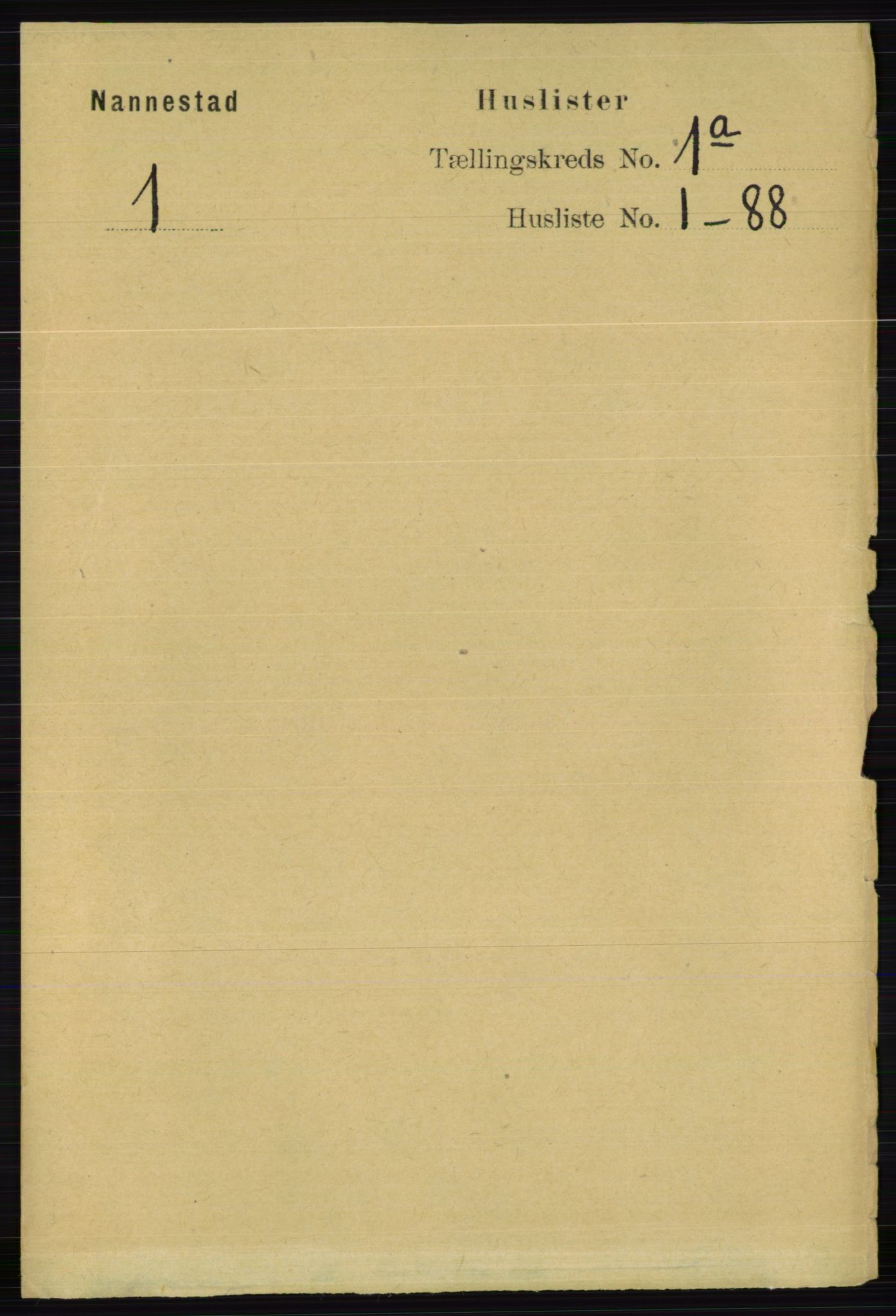 RA, Folketelling 1891 for 0238 Nannestad herred, 1891, s. 30