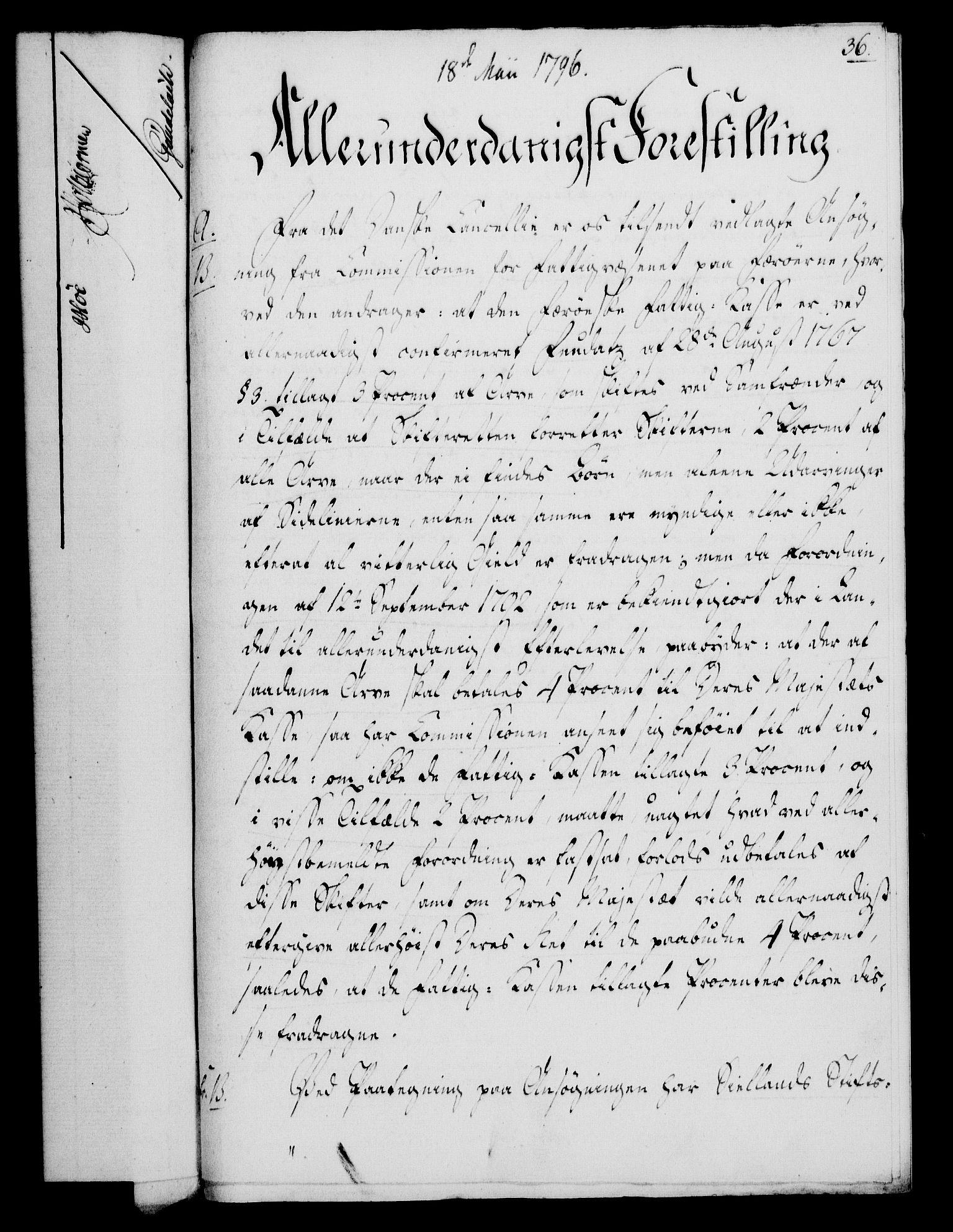 RA, Rentekammeret, Kammerkanselliet, G/Gf/Gfa/L0078: Norsk relasjons- og resolusjonsprotokoll (merket RK 52.78), 1796, s. 196
