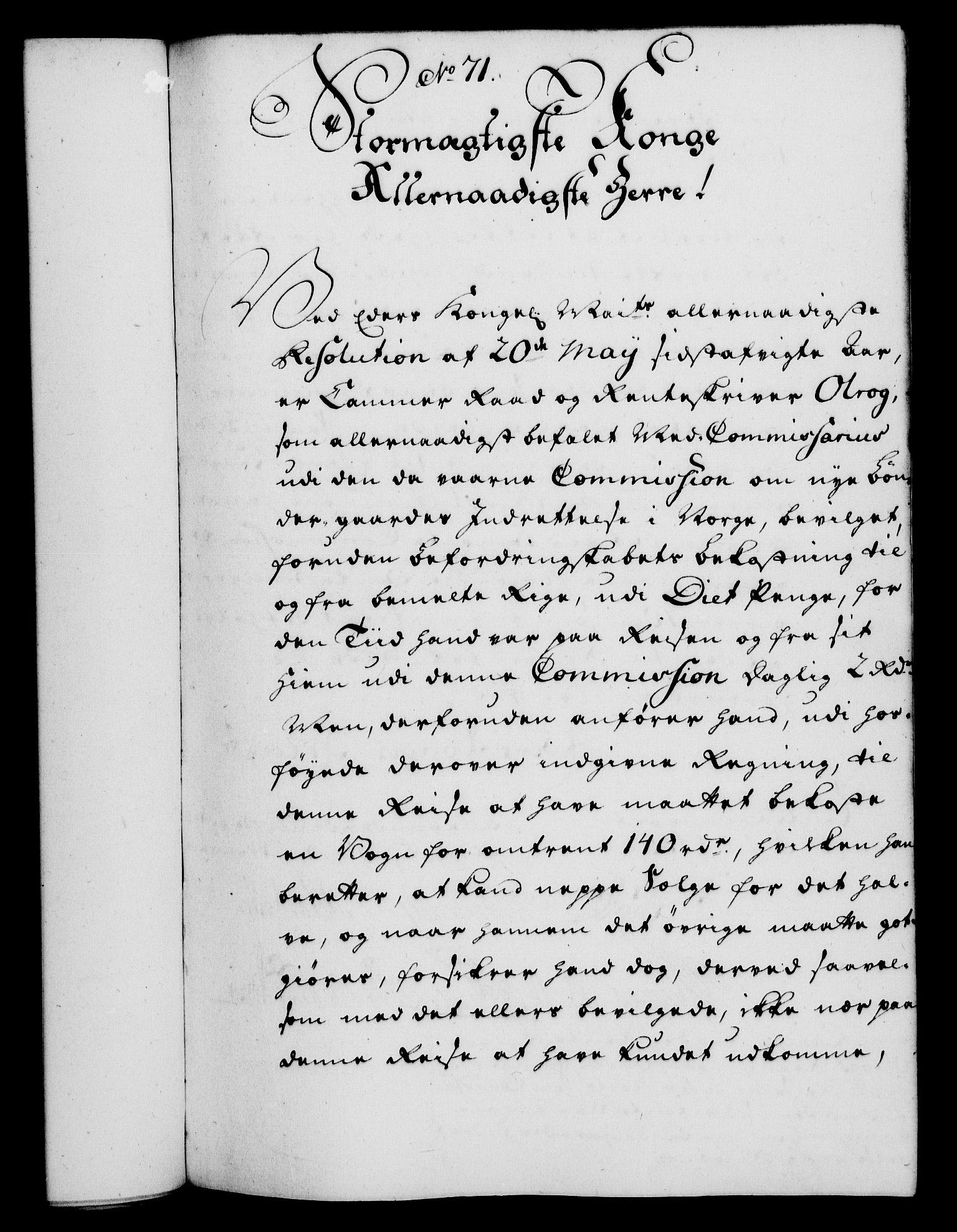 RA, Rentekammeret, Kammerkanselliet, G/Gf/Gfa/L0037: Norsk relasjons- og resolusjonsprotokoll (merket RK 52.37), 1755, s. 402