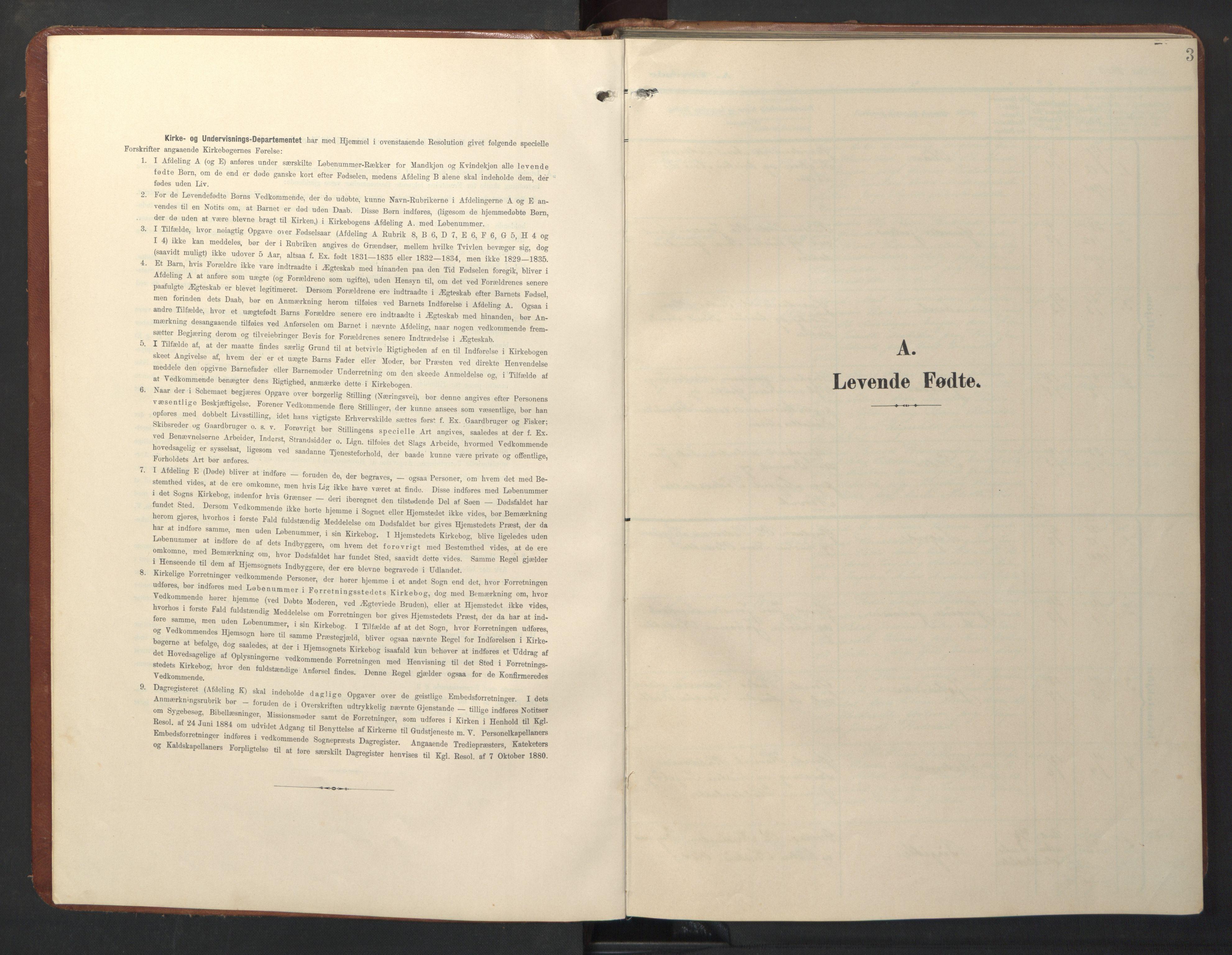 SAT, Ministerialprotokoller, klokkerbøker og fødselsregistre - Sør-Trøndelag, 696/L1161: Klokkerbok nr. 696C01, 1902-1950, s. 3