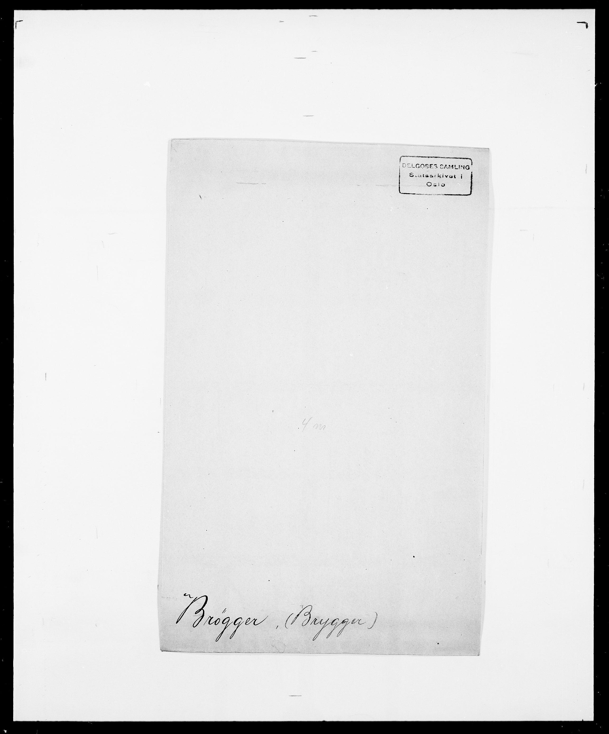 SAO, Delgobe, Charles Antoine - samling, D/Da/L0006: Brambani - Brønø, s. 946