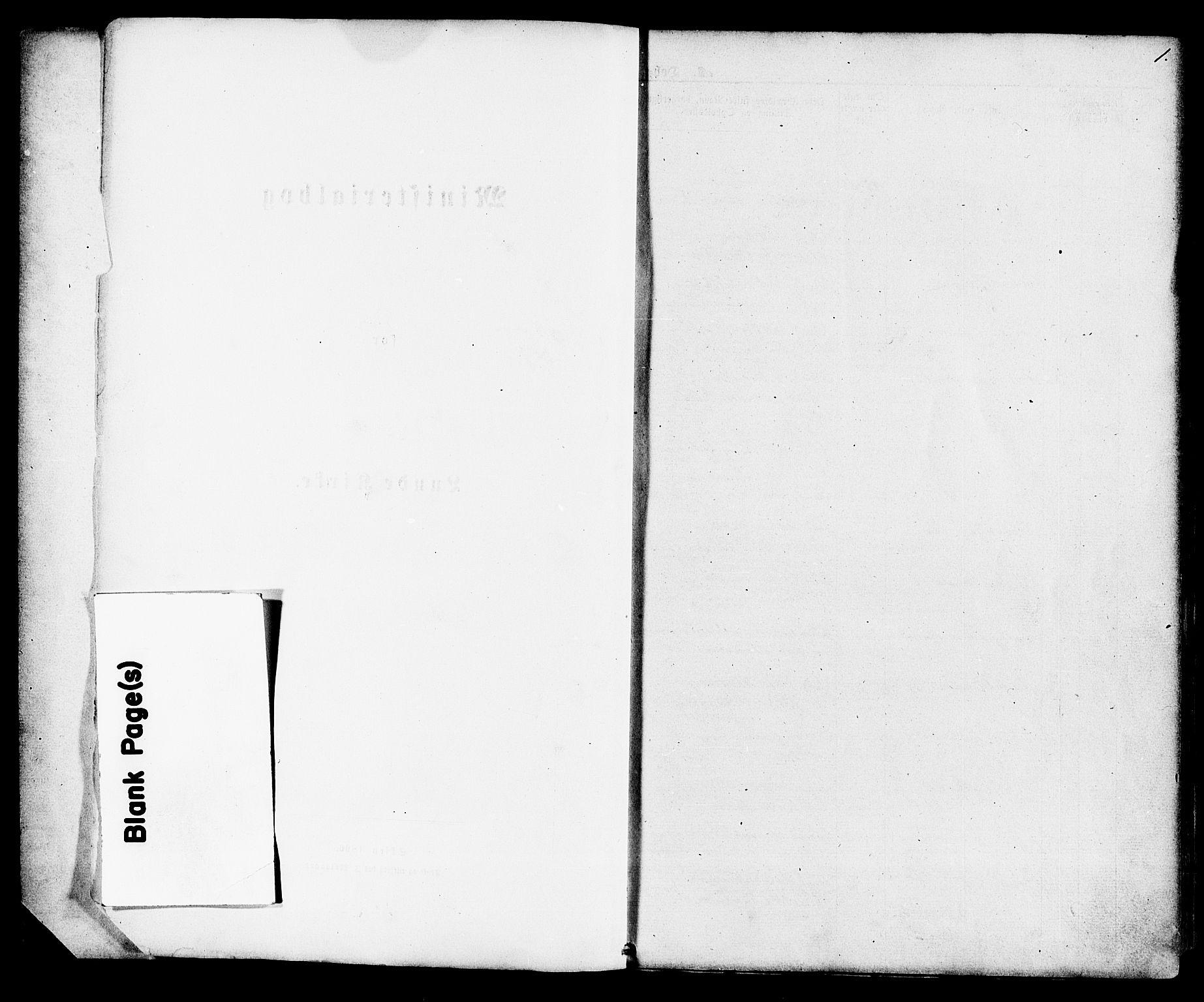 SAKO, Lunde kirkebøker, F/Fa/L0001: Ministerialbok nr. I 1, 1866-1883, s. 1