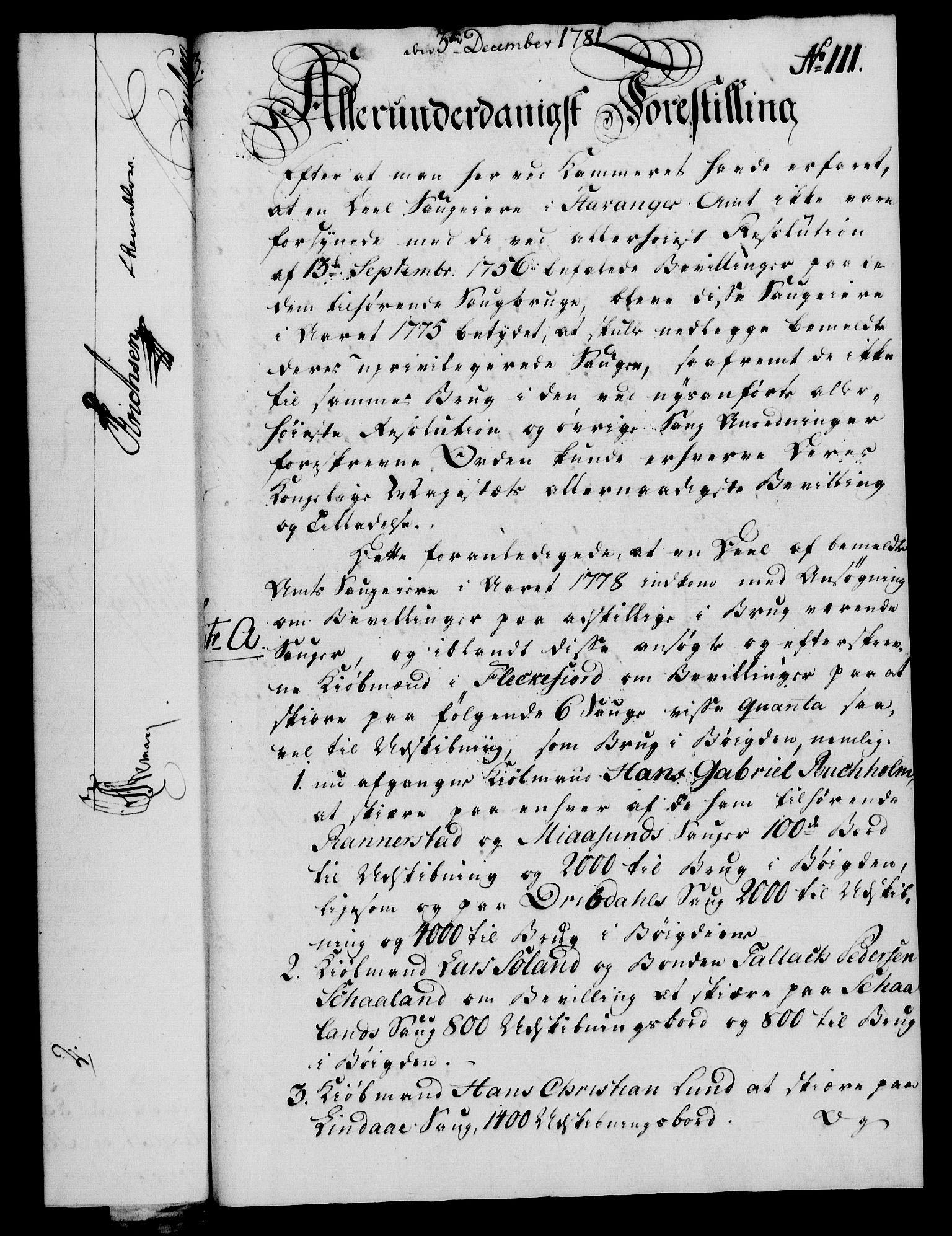 RA, Rentekammeret, Kammerkanselliet, G/Gf/Gfa/L0063: Norsk relasjons- og resolusjonsprotokoll (merket RK 52.63), 1781, s. 1157