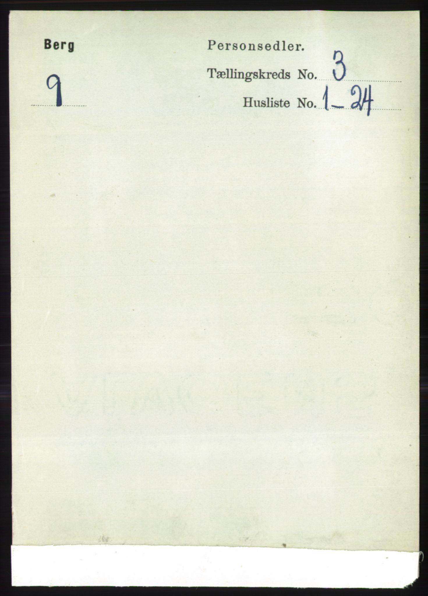 RA, Folketelling 1891 for 1929 Berg herred, 1891, s. 1020