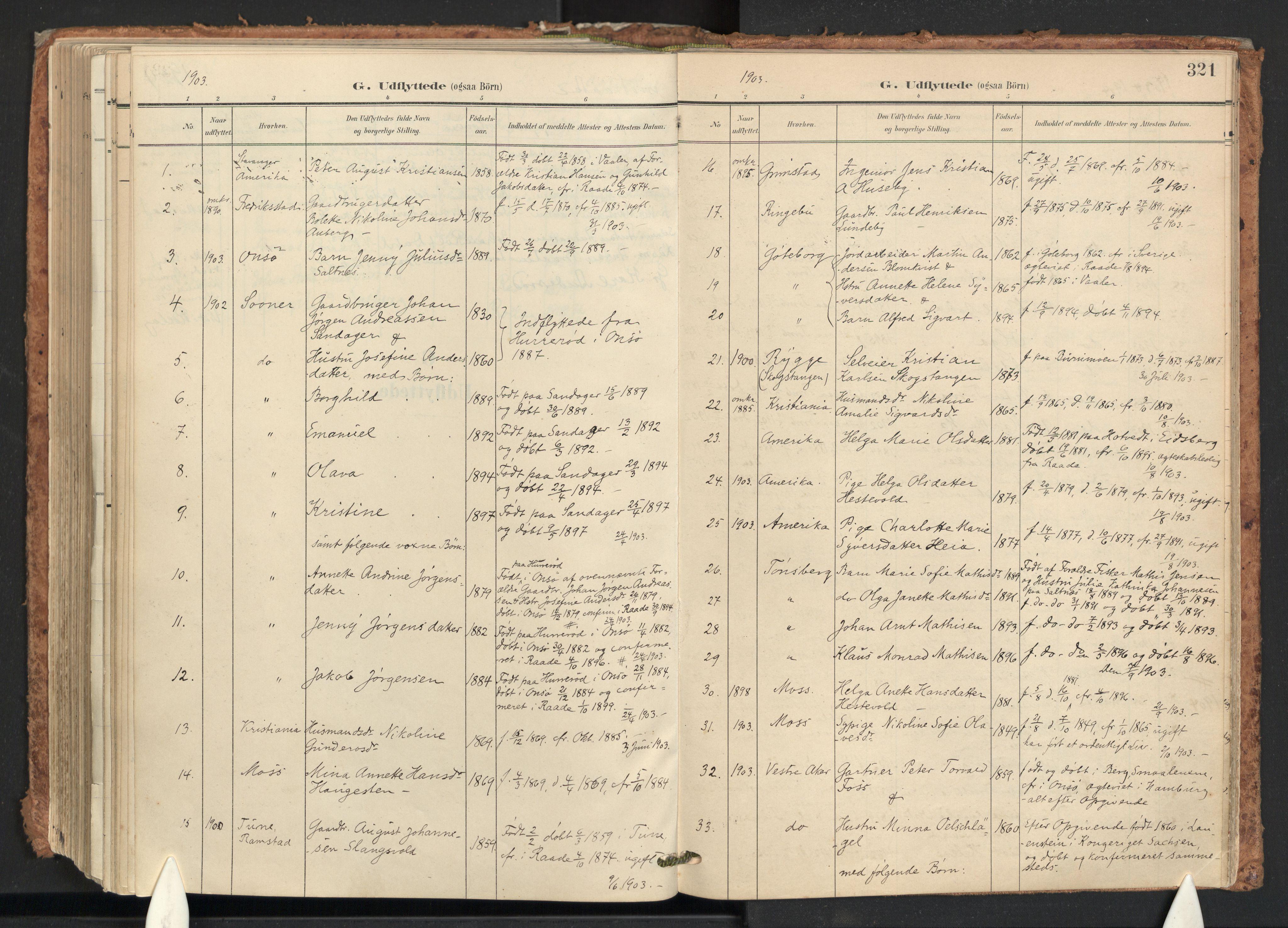 SAO, Råde prestekontor kirkebøker, F/Fa/L0008: Ministerialbok nr. 8, 1903-1924, s. 321