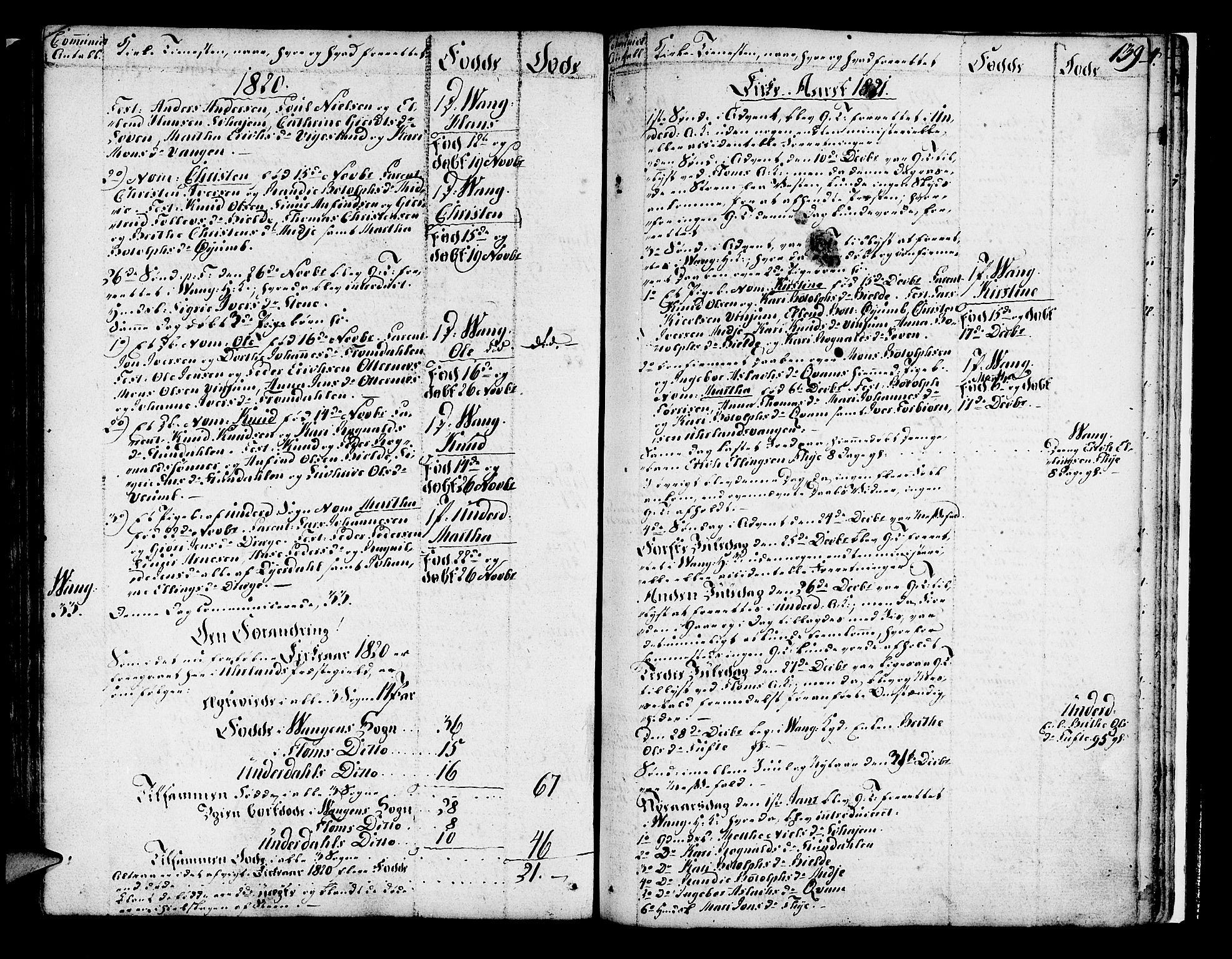 SAB, Aurland Sokneprestembete*, Ministerialbok nr. A 5, 1801-1821, s. 139