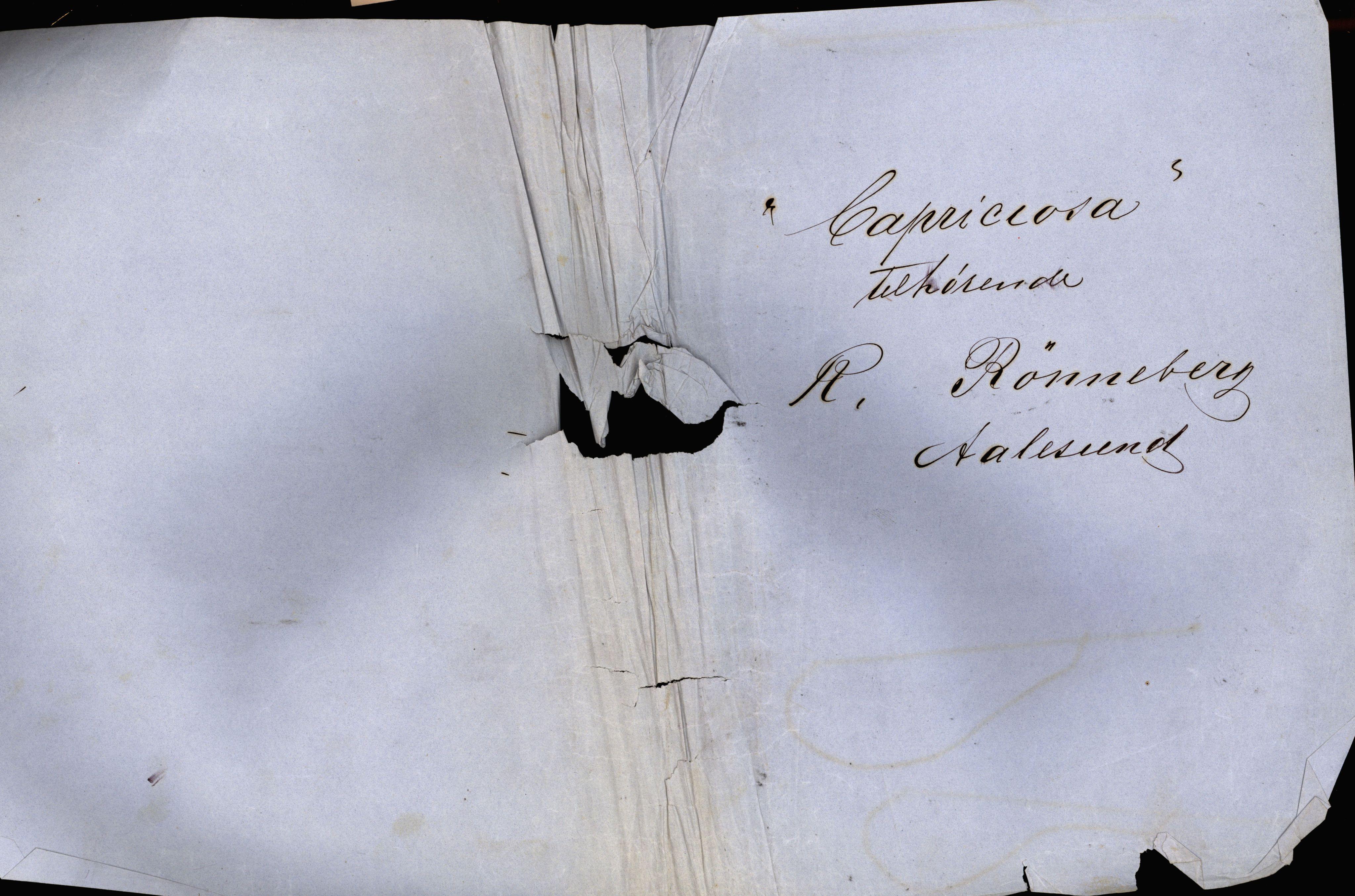 VEMU, Pa 63 - Østlandske skibsassuranceforening, G/Ga/L0001: Havaridokumenter, 1867