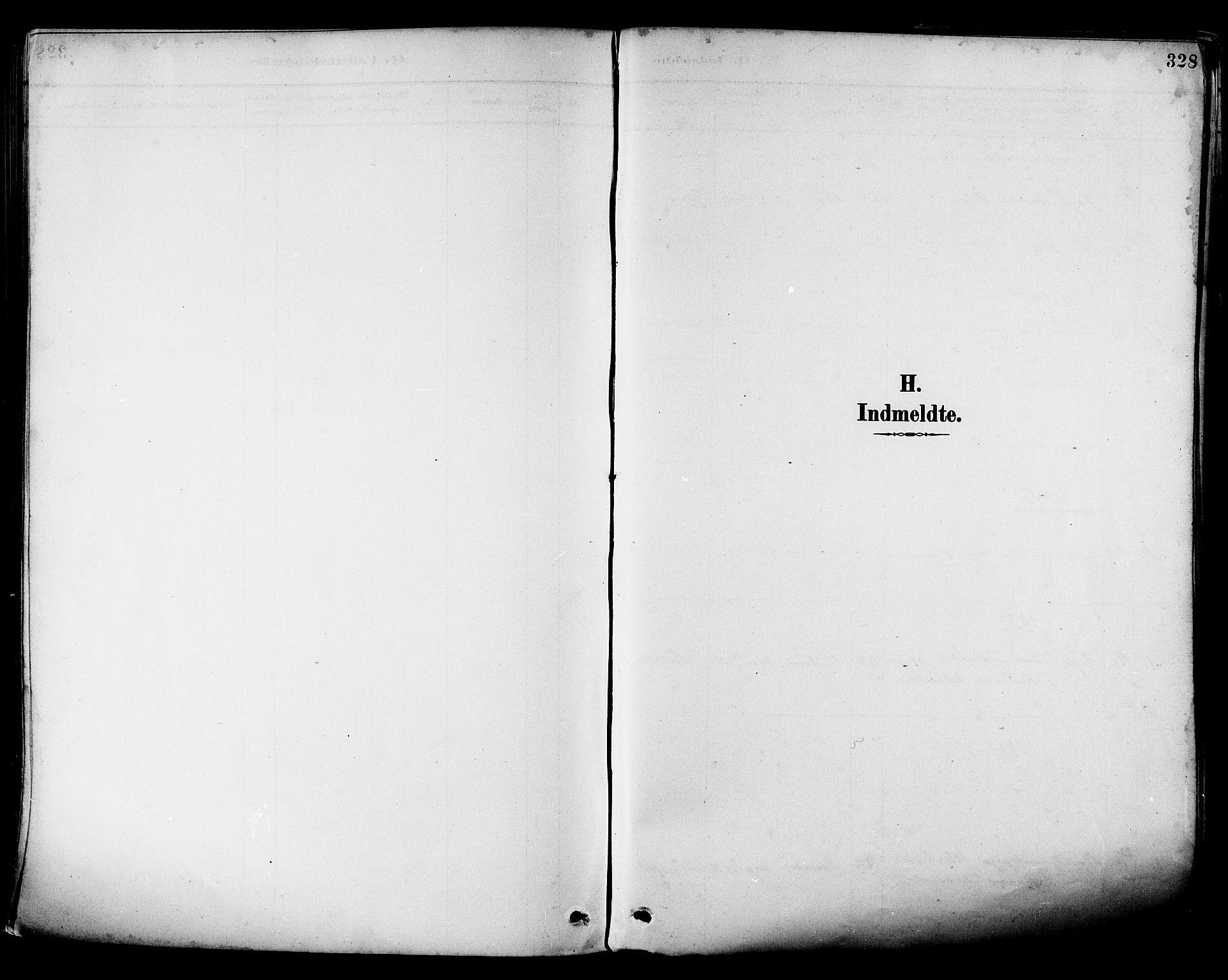 SAT, Ministerialprotokoller, klokkerbøker og fødselsregistre - Nordland, 880/L1133: Ministerialbok nr. 880A07, 1888-1898, s. 328