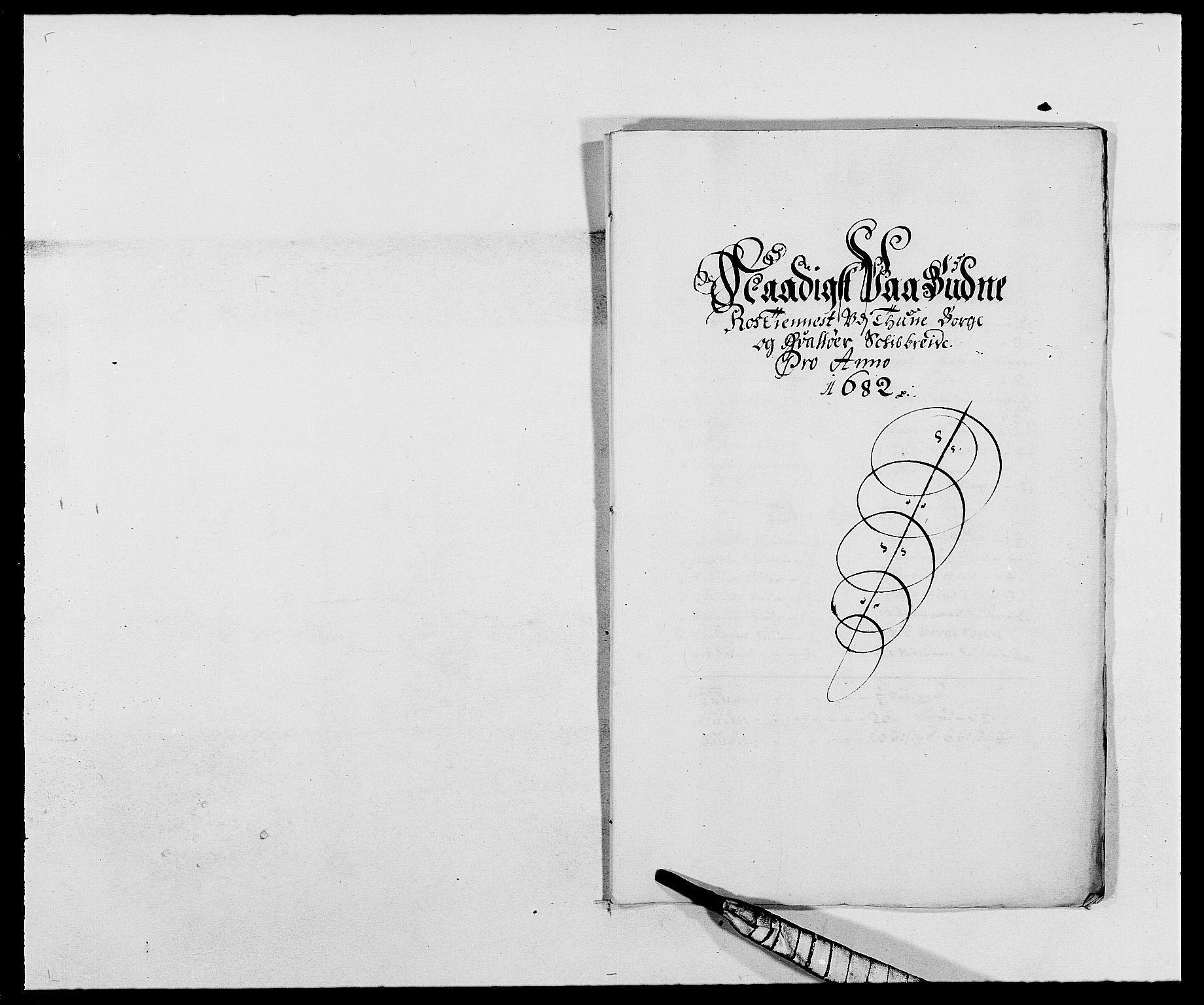 RA, Rentekammeret inntil 1814, Reviderte regnskaper, Fogderegnskap, R03/L0114: Fogderegnskap Onsøy, Tune, Veme og Åbygge fogderi, 1678-1683, s. 310