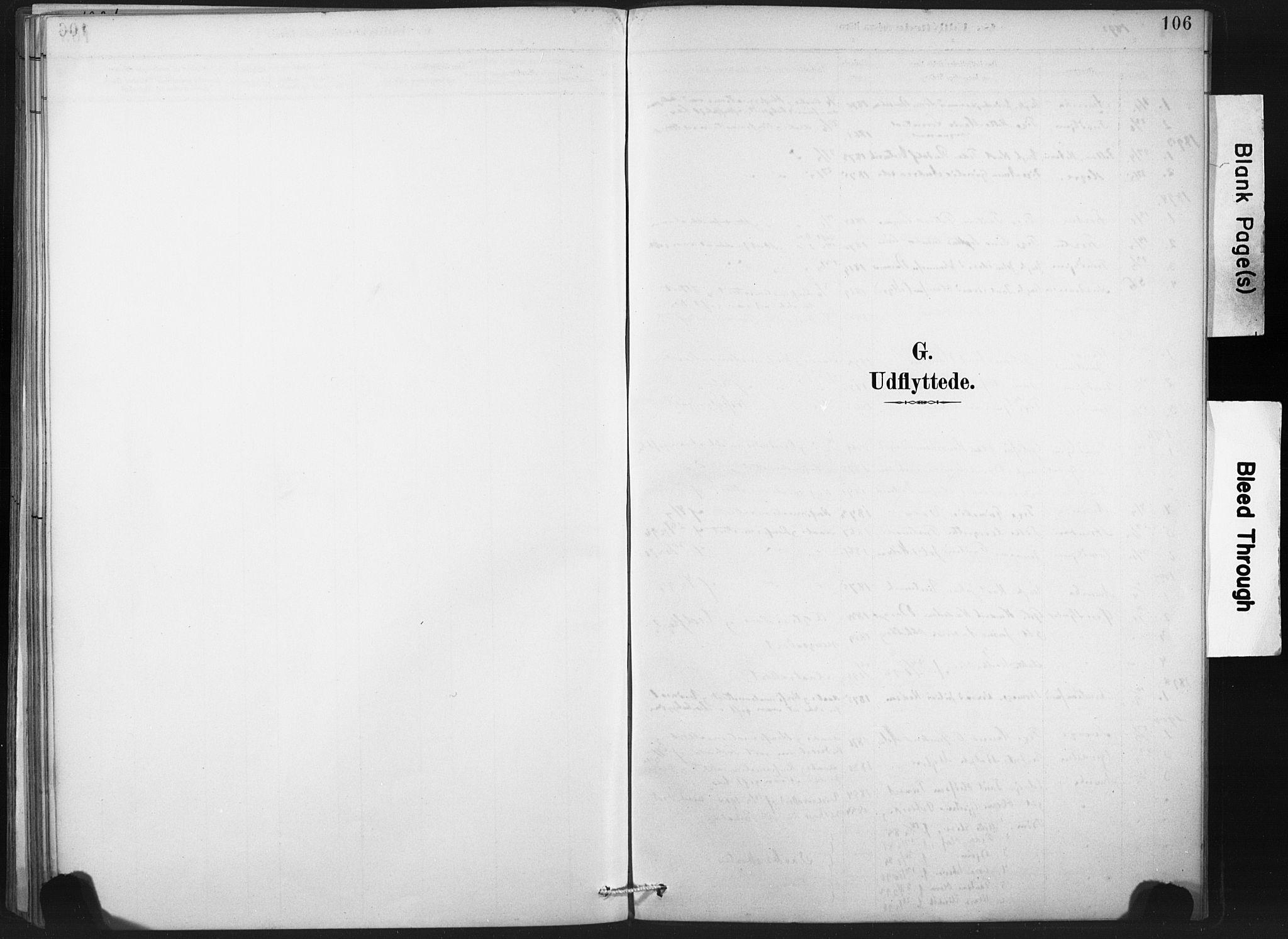 SAT, Ministerialprotokoller, klokkerbøker og fødselsregistre - Nord-Trøndelag, 718/L0175: Ministerialbok nr. 718A01, 1890-1923, s. 106