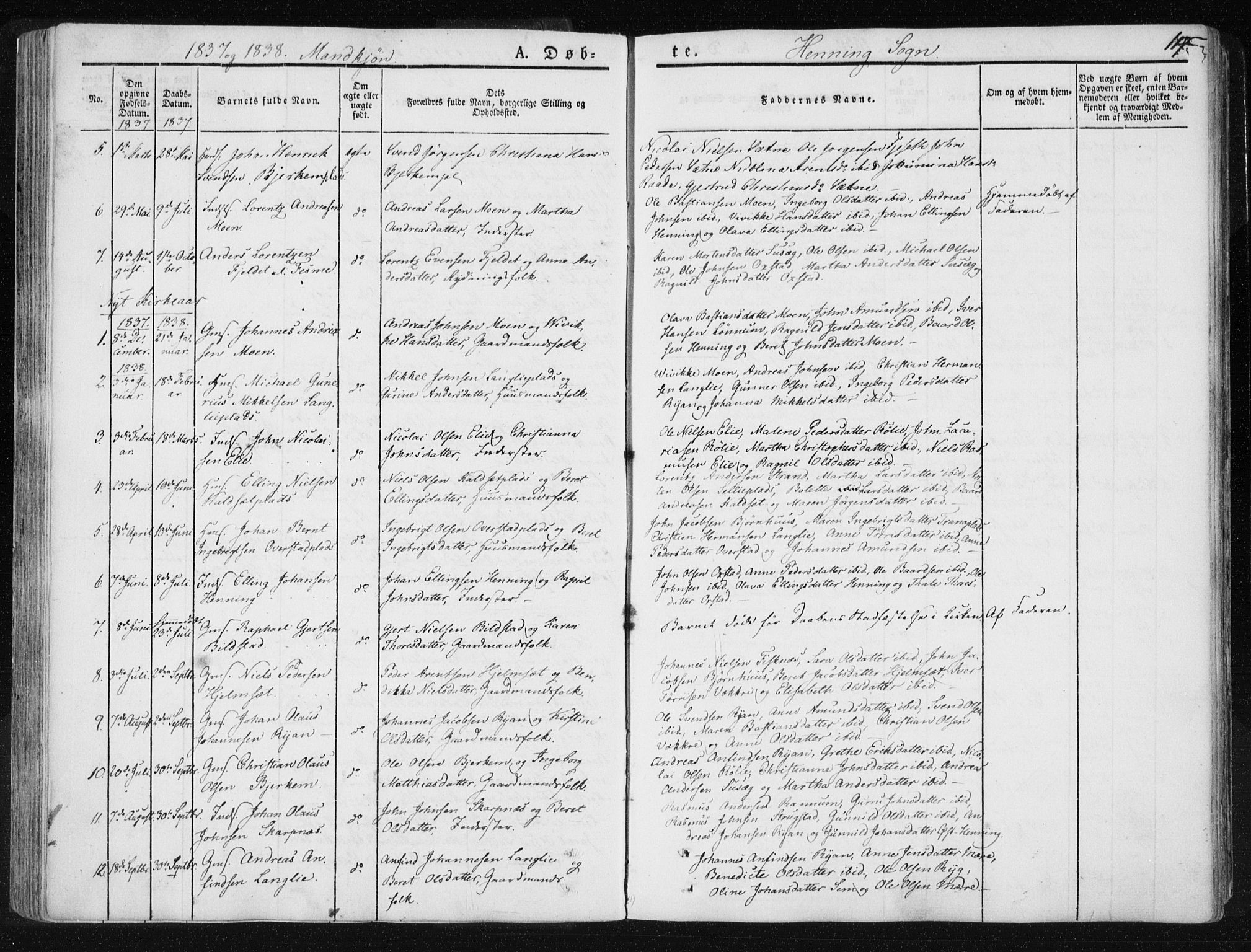 SAT, Ministerialprotokoller, klokkerbøker og fødselsregistre - Nord-Trøndelag, 735/L0339: Ministerialbok nr. 735A06 /3, 1836-1848, s. 117