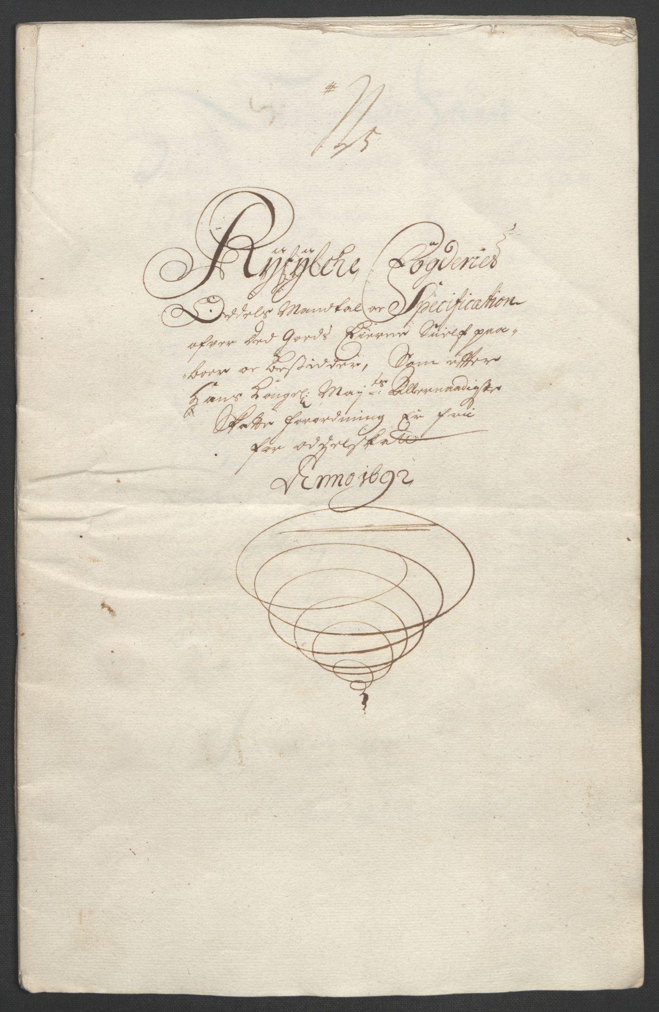 RA, Rentekammeret inntil 1814, Reviderte regnskaper, Fogderegnskap, R47/L2856: Fogderegnskap Ryfylke, 1689-1693, s. 527