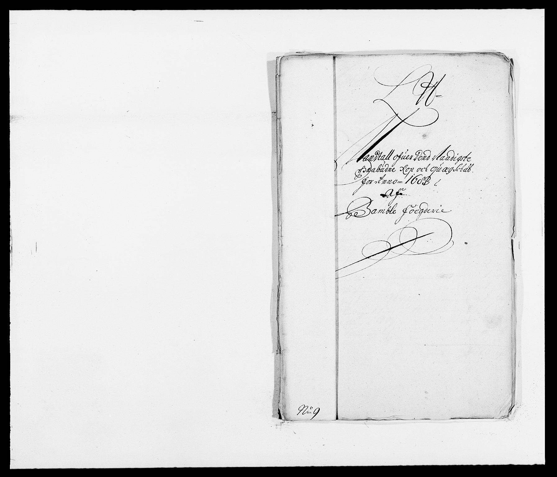 RA, Rentekammeret inntil 1814, Reviderte regnskaper, Fogderegnskap, R34/L2046: Fogderegnskap Bamble, 1682-1683, s. 403