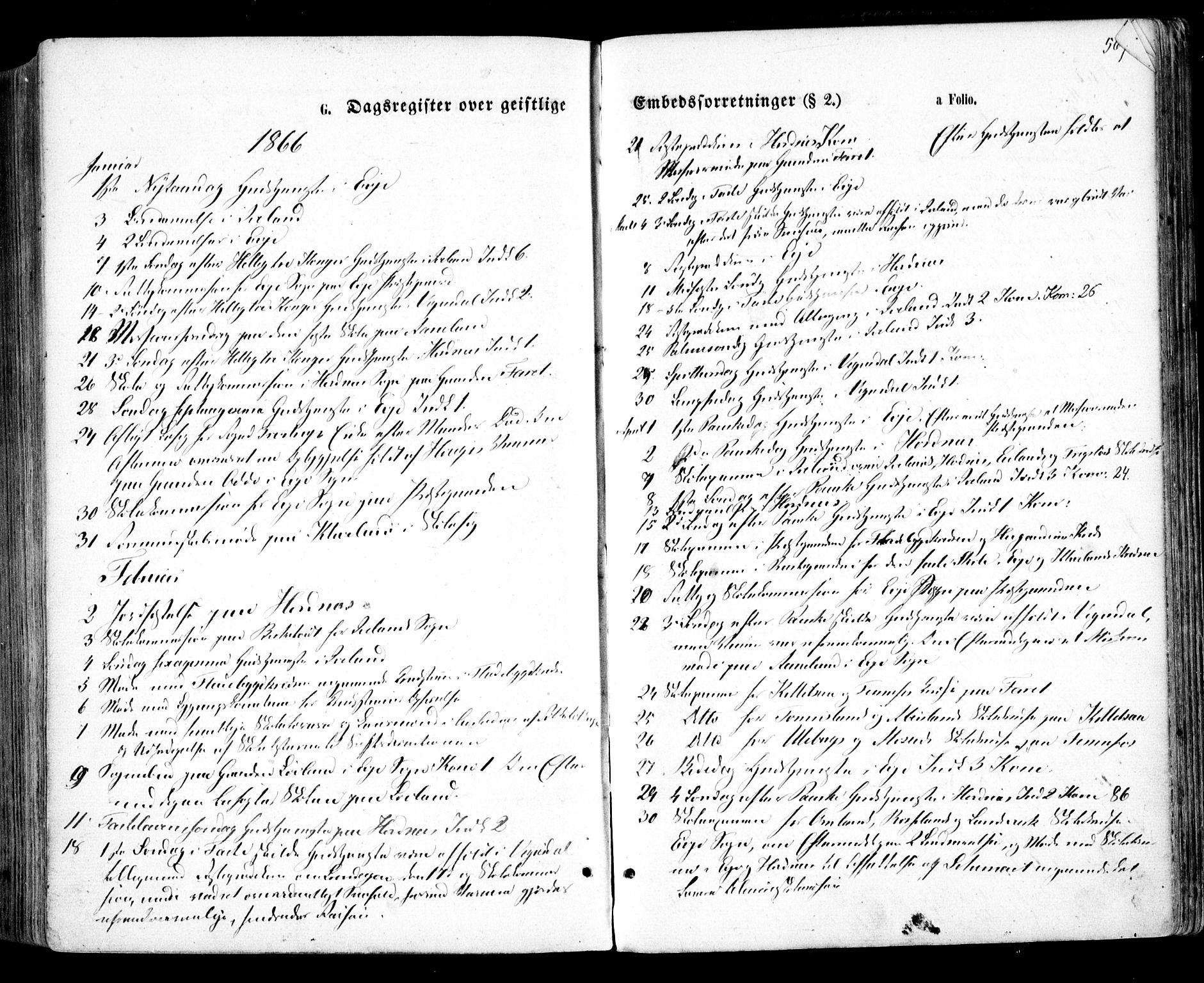SAK, Evje sokneprestkontor, F/Fa/Faa/L0006: Ministerialbok nr. A 6, 1866-1884, s. 567