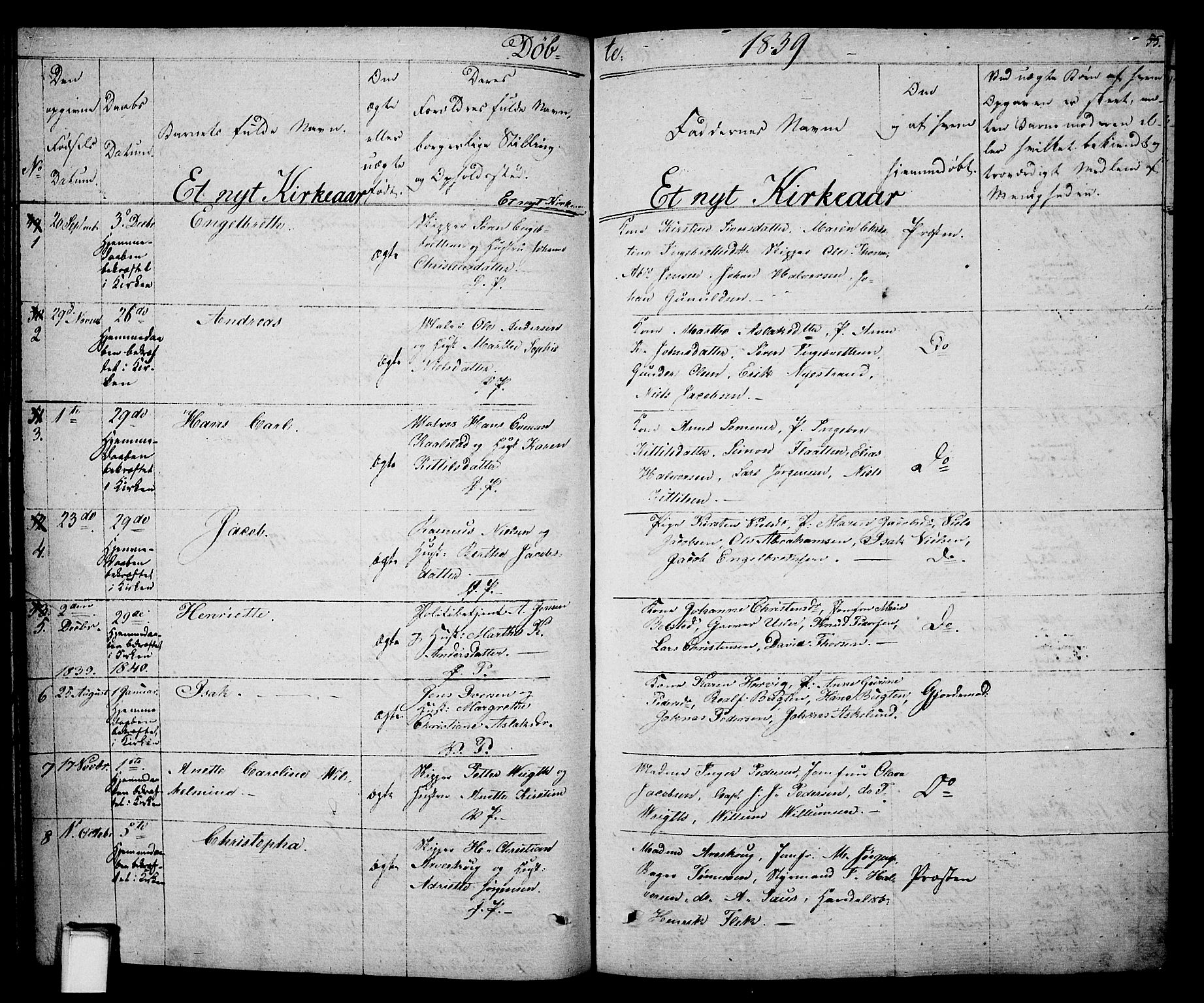 SAKO, Porsgrunn kirkebøker , F/Fa/L0005: Ministerialbok nr. 5, 1828-1840, s. 55