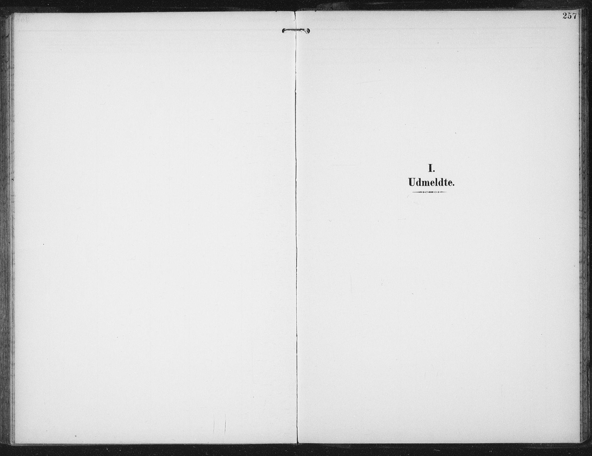 SAT, Ministerialprotokoller, klokkerbøker og fødselsregistre - Sør-Trøndelag, 674/L0872: Ministerialbok nr. 674A04, 1897-1907, s. 257