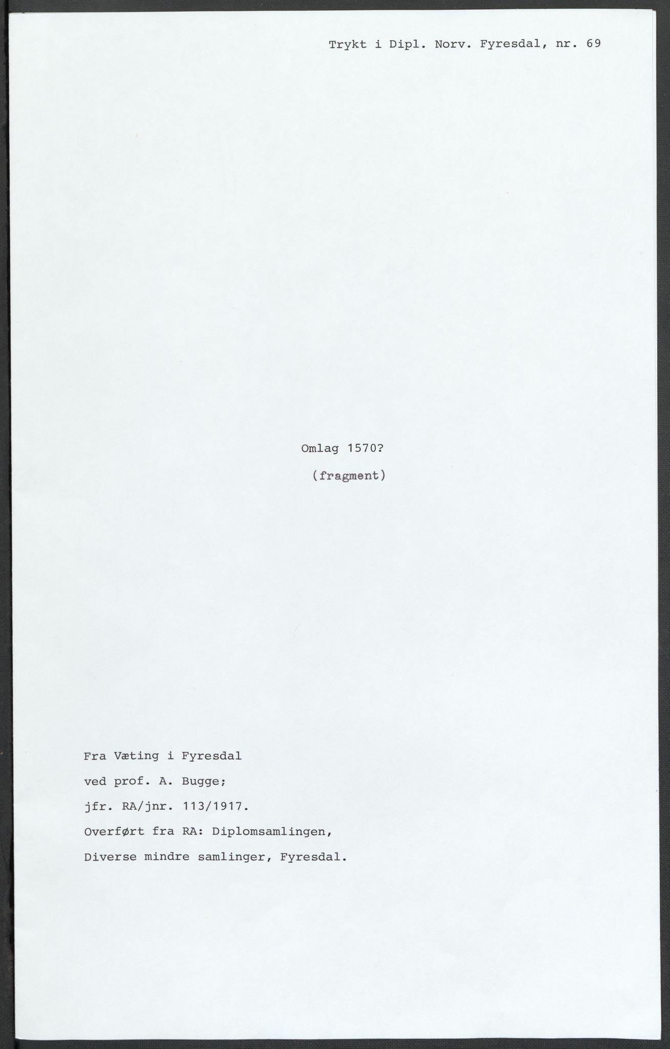 RA, Riksarkivets diplomsamling, F02/L0075: Dokumenter, 1570-1571, s. 51