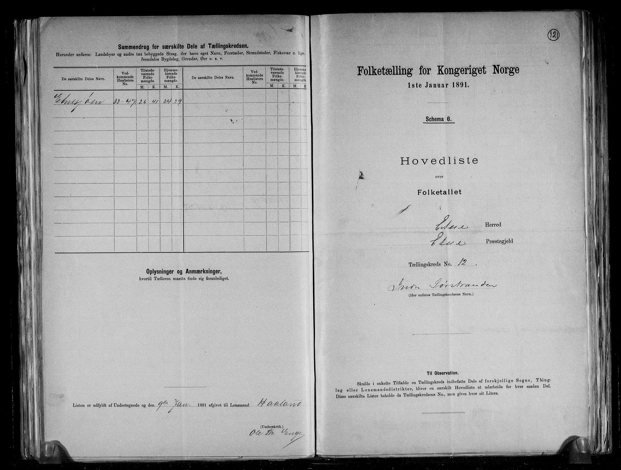 RA, Folketelling 1891 for 1211 Etne herred, 1891, s. 34