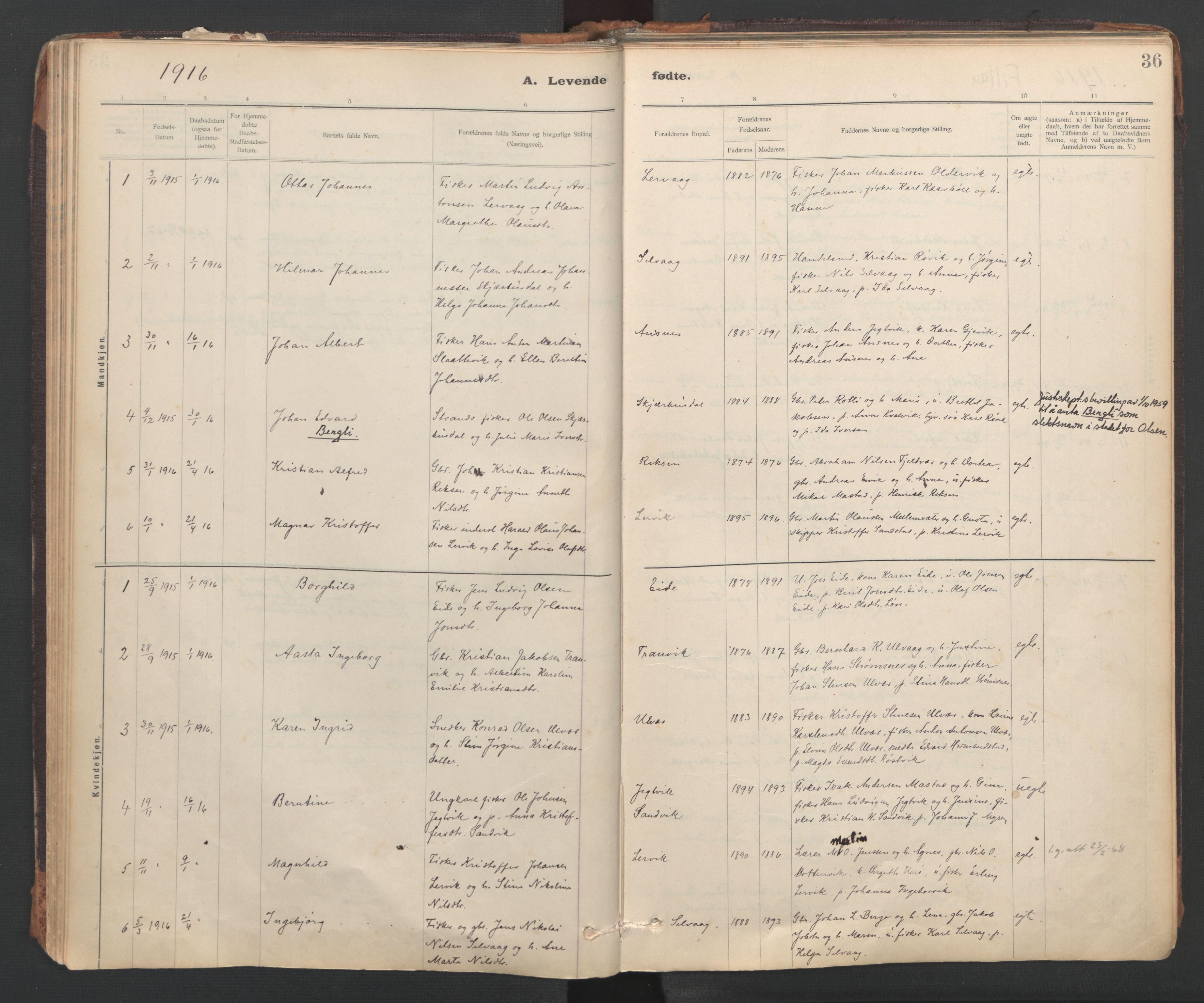 SAT, Ministerialprotokoller, klokkerbøker og fødselsregistre - Sør-Trøndelag, 637/L0559: Ministerialbok nr. 637A02, 1899-1923, s. 36