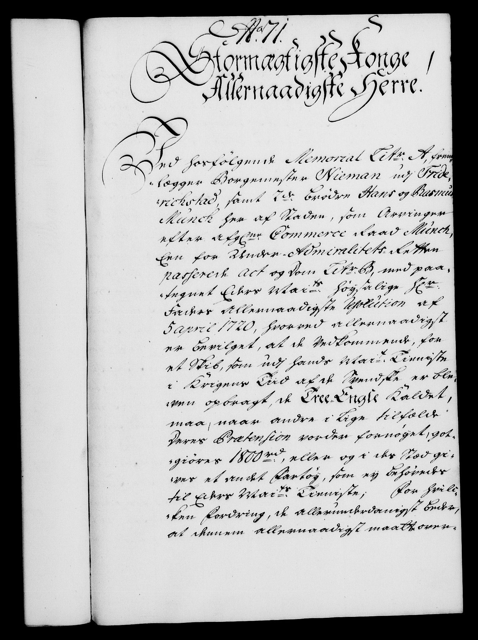 RA, Rentekammeret, Kammerkanselliet, G/Gf/Gfa/L0021: Norsk relasjons- og resolusjonsprotokoll (merket RK 52.21), 1738, s. 388