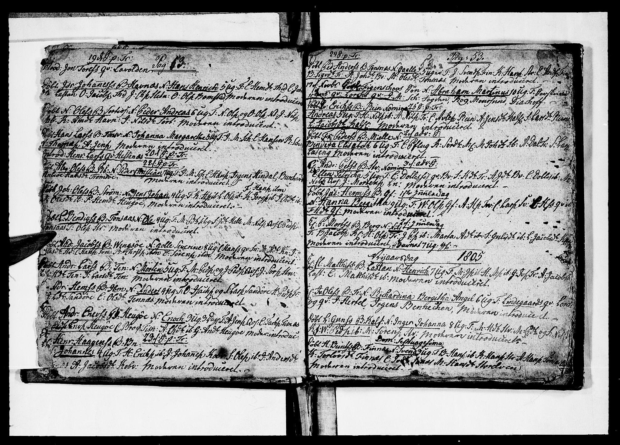 SATØ, Tromsø sokneprestkontor/stiftsprosti/domprosti, G/Ga/L0005kirke: Ministerialbok nr. 5, 1796-1808, s. 53