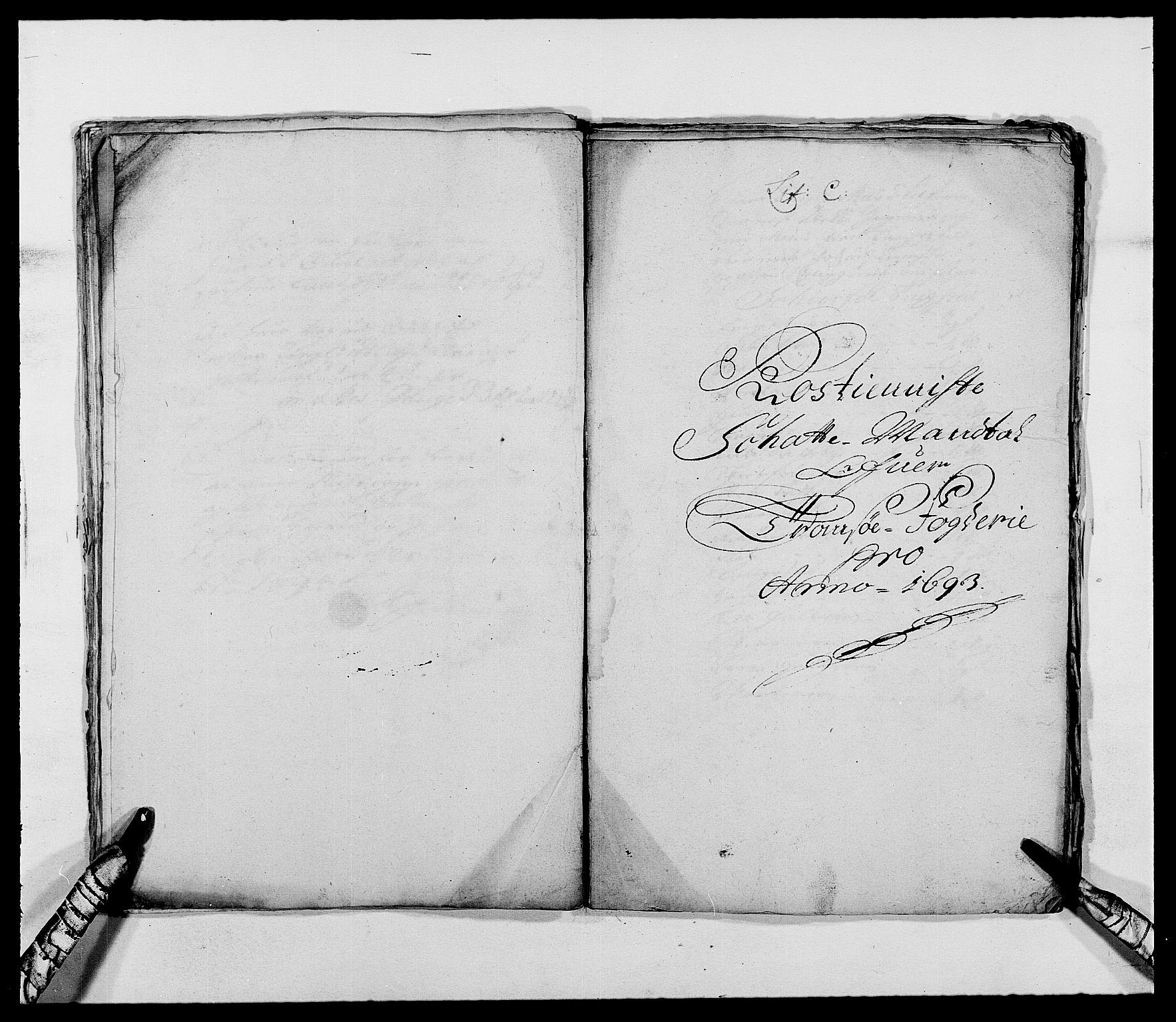 RA, Rentekammeret inntil 1814, Reviderte regnskaper, Fogderegnskap, R68/L4751: Fogderegnskap Senja og Troms, 1690-1693, s. 306