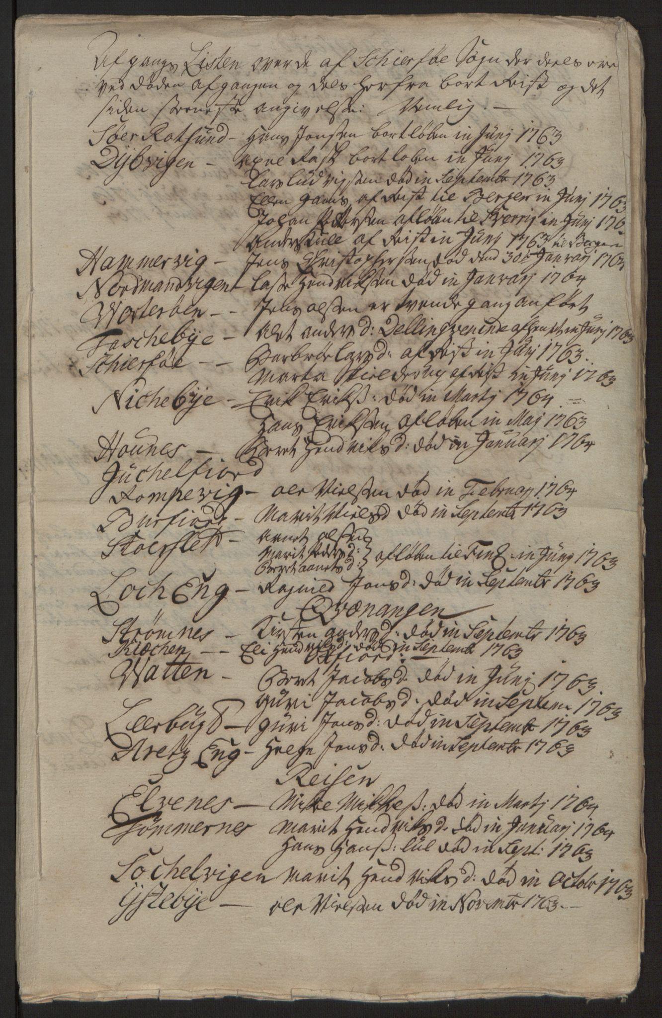RA, Rentekammeret inntil 1814, Reviderte regnskaper, Fogderegnskap, R68/L4845: Ekstraskatten Senja og Troms, 1762-1765, s. 443