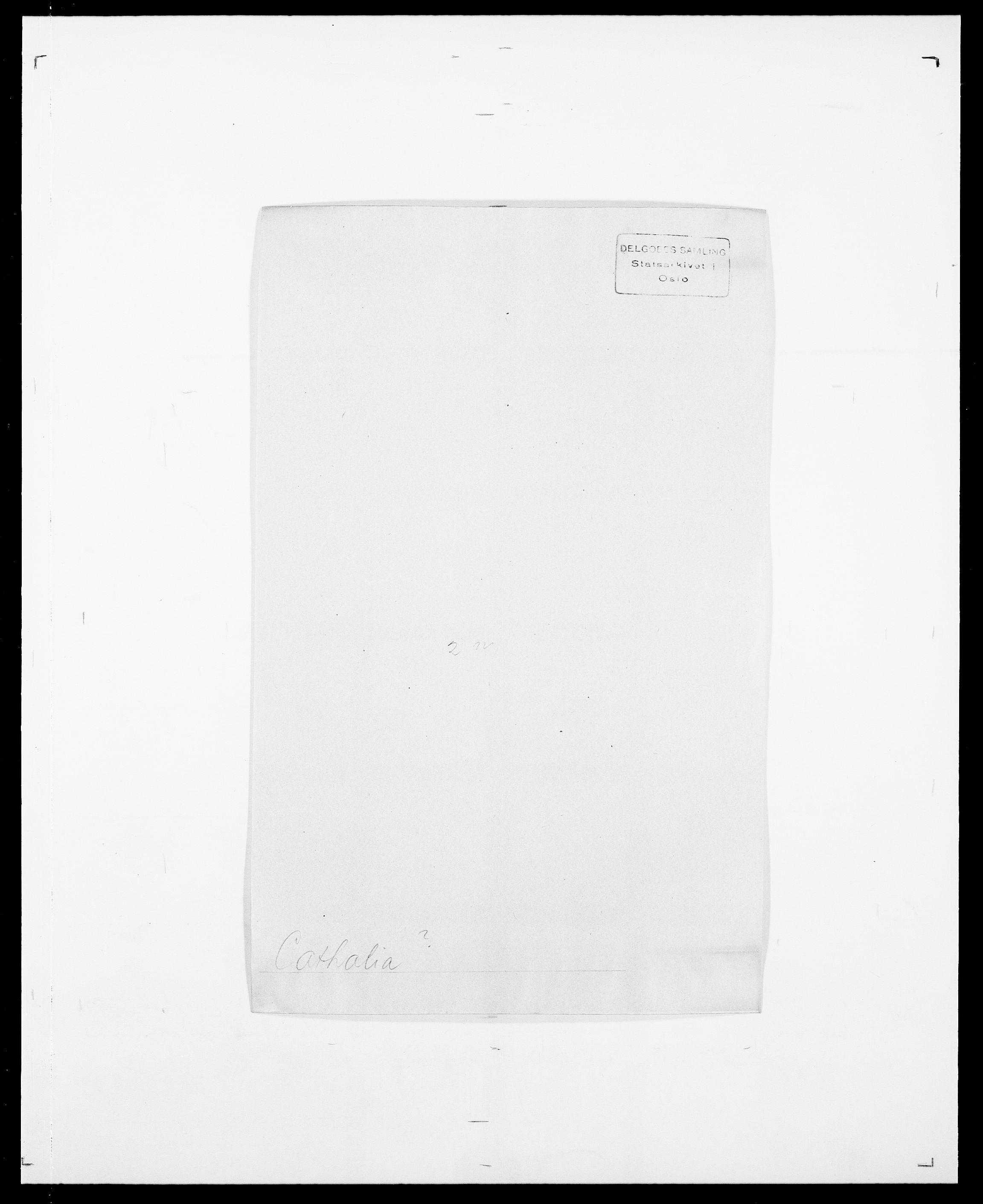 SAO, Delgobe, Charles Antoine - samling, D/Da/L0008: Capjon - Dagenbolt, s. 154