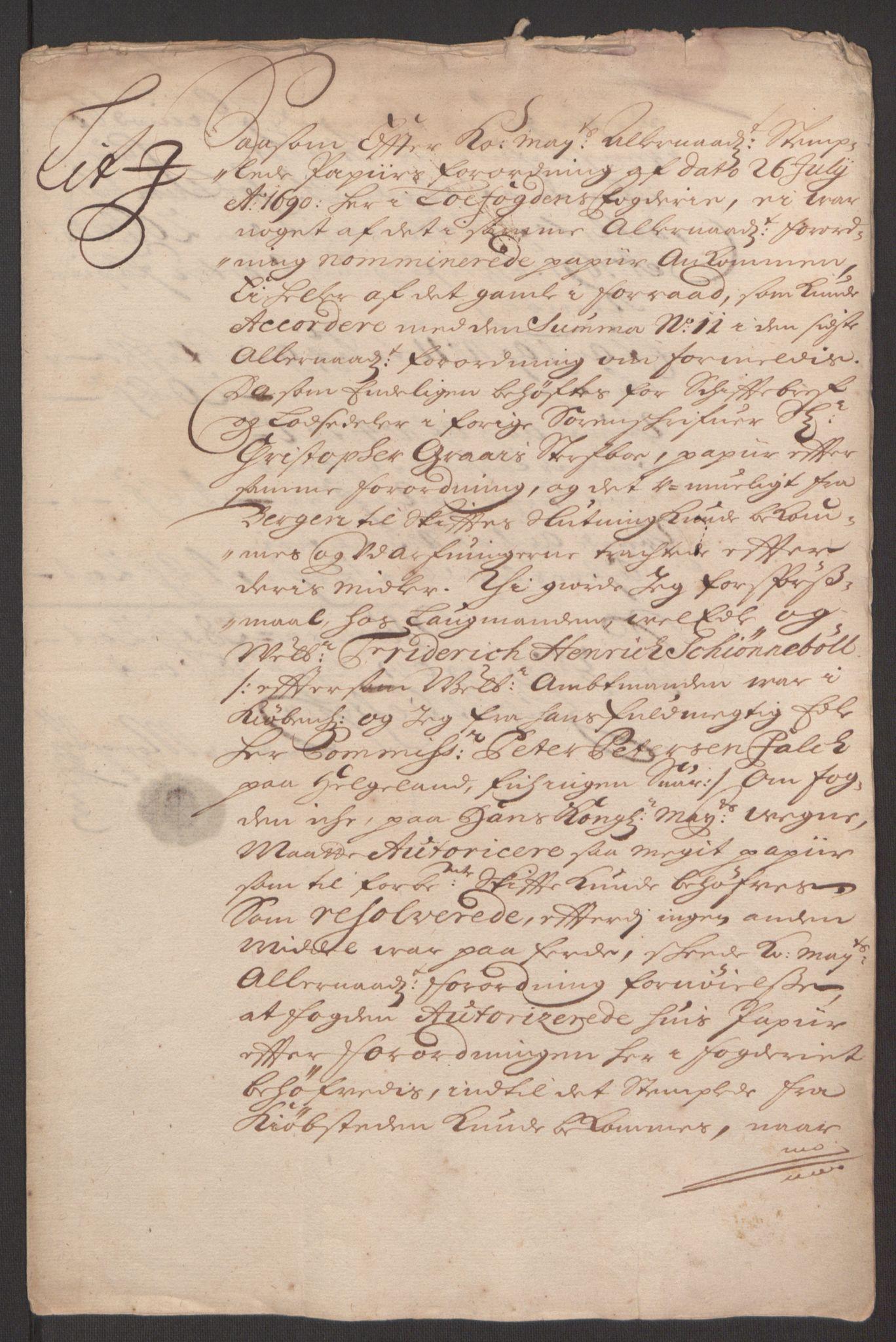 RA, Rentekammeret inntil 1814, Reviderte regnskaper, Fogderegnskap, R67/L4675: Fogderegnskap Vesterålen, Andenes og Lofoten, 1691-1693, s. 86