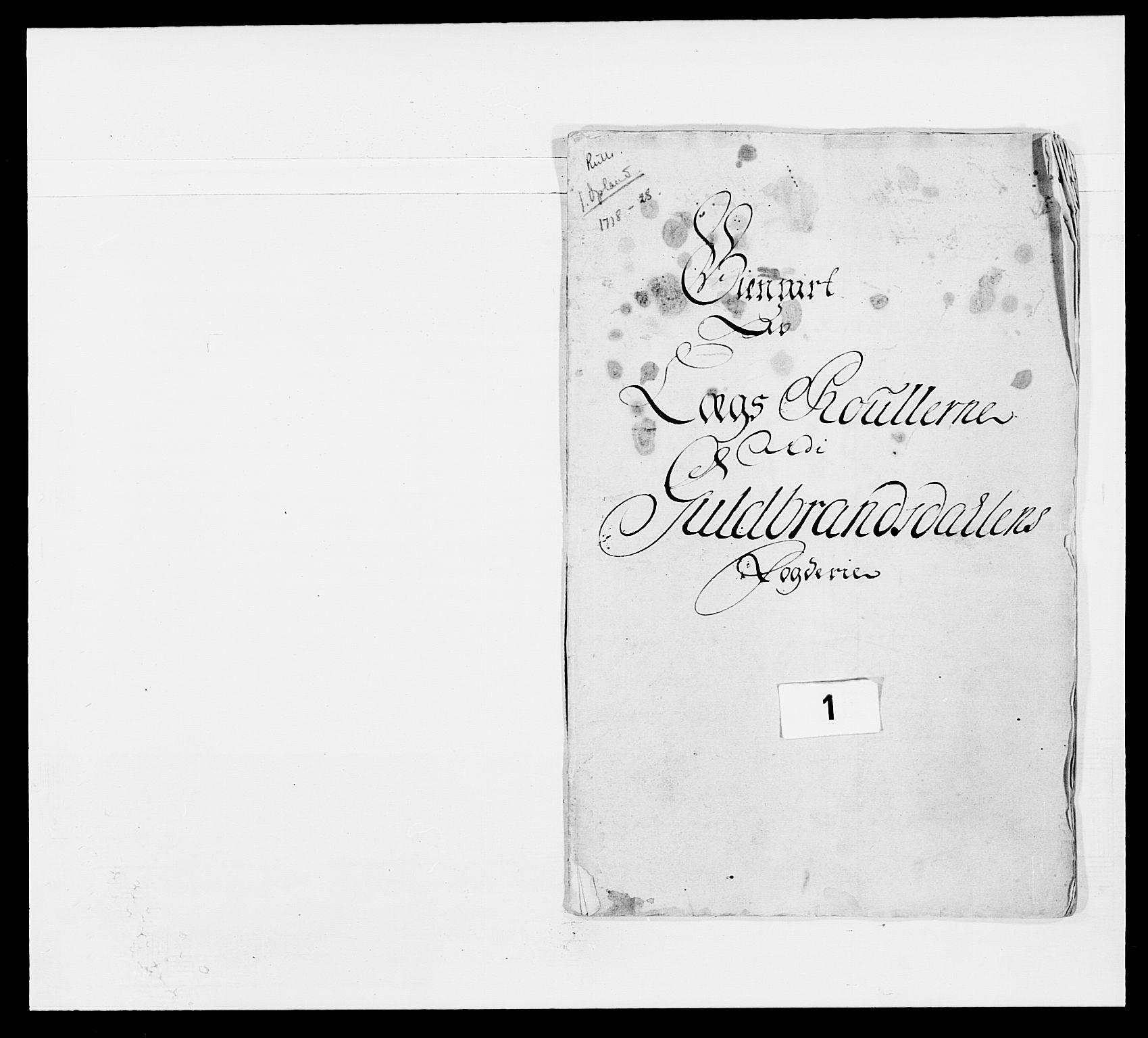 RA, Kommanderende general (KG I) med Det norske krigsdirektorium, E/Ea/L0502: 1. Opplandske regiment, 1720-1743, s. 7