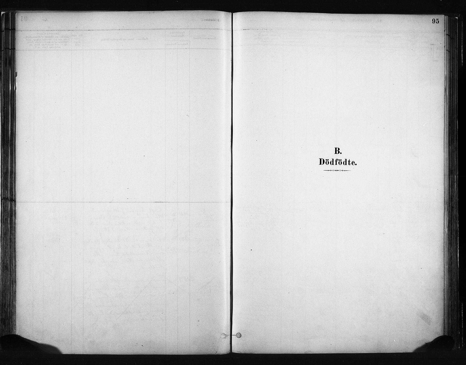 SAH, Vang prestekontor, Valdres, Ministerialbok nr. 8, 1882-1910, s. 95